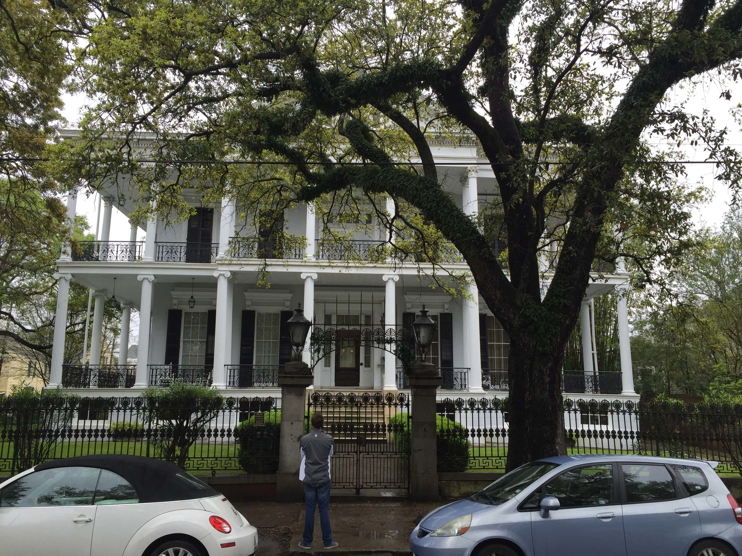Garden District Mansion in New Orleans