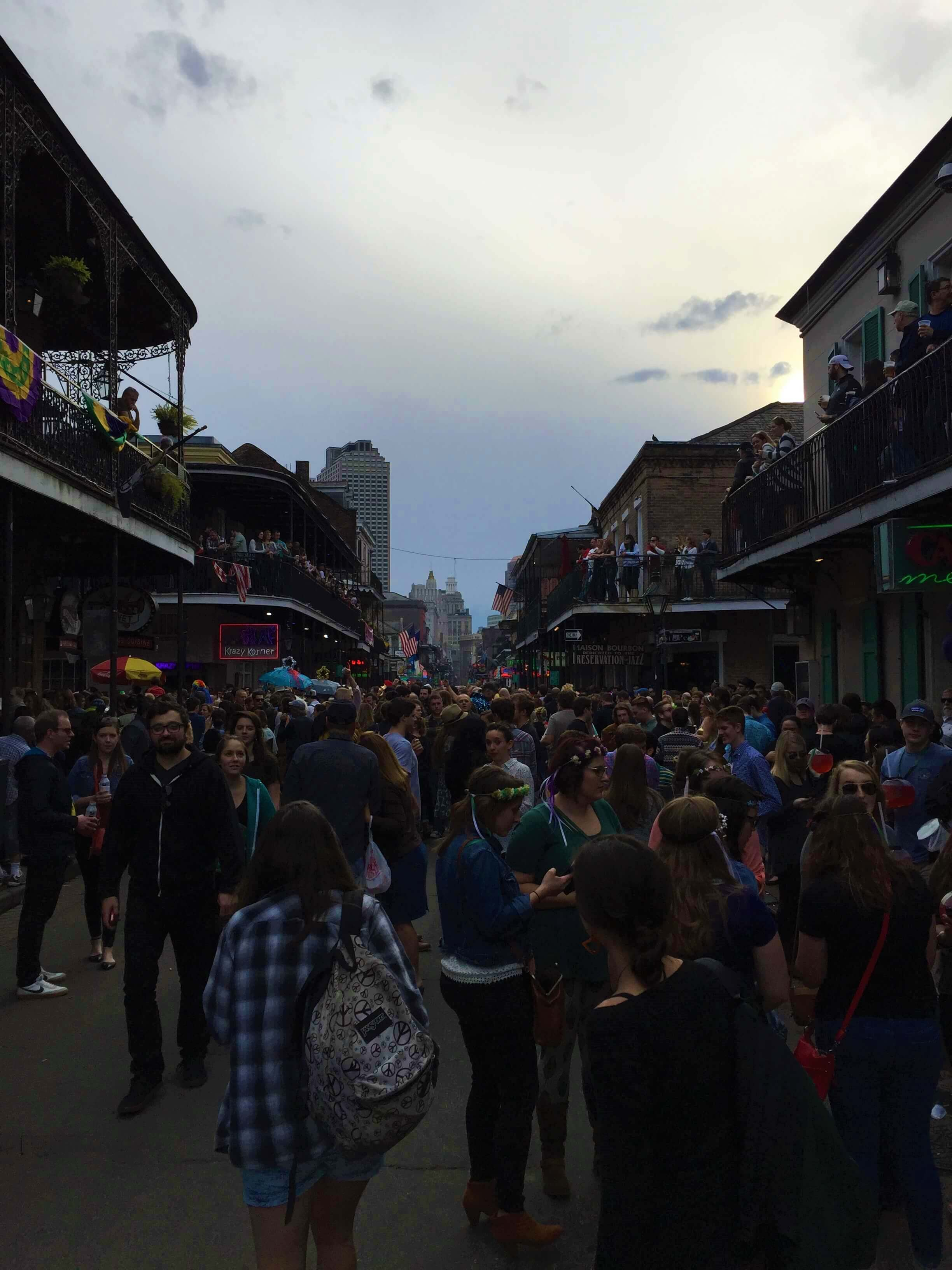 Bourbon Street During The Day