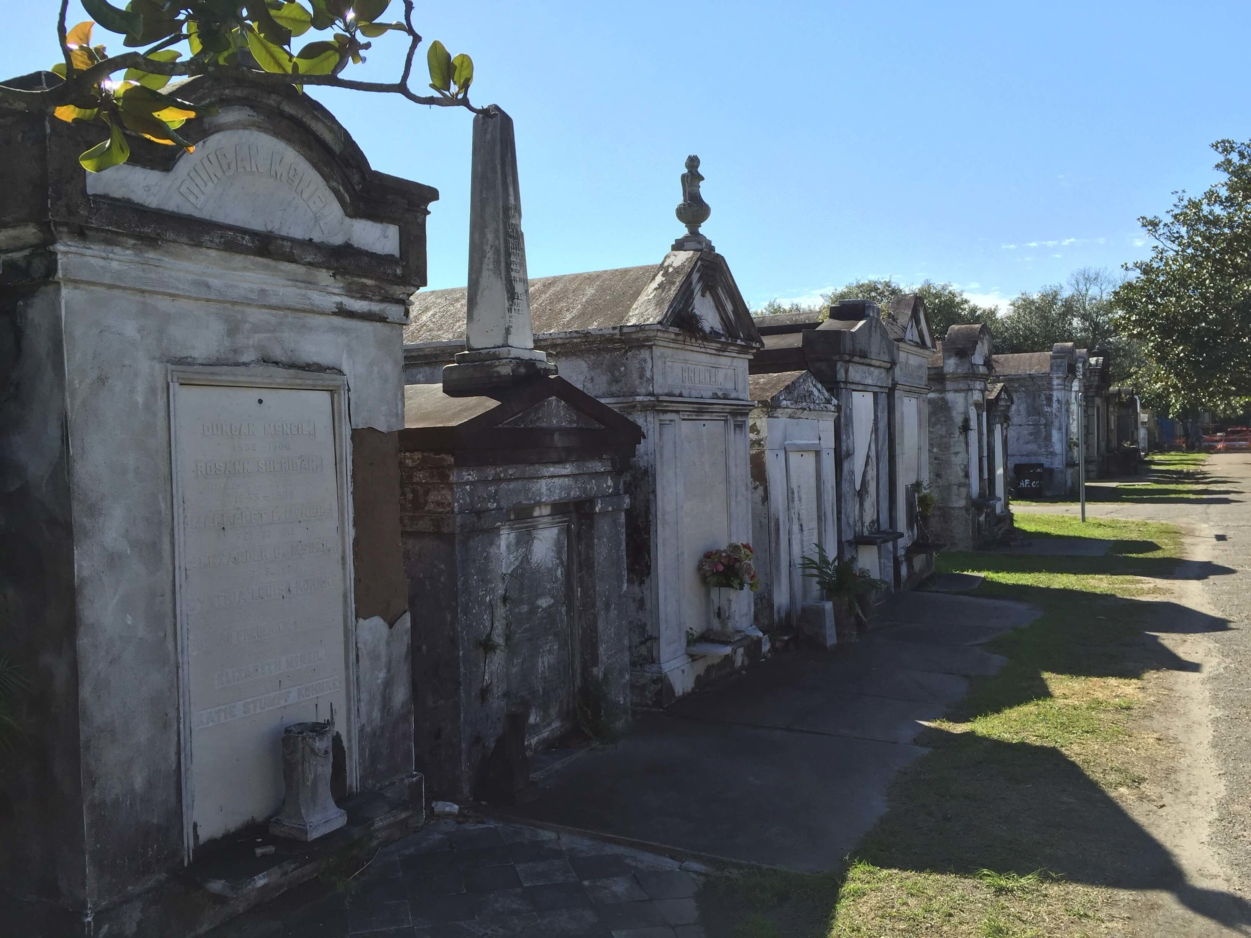 Lafayette Cemetery #1 in New Orleans