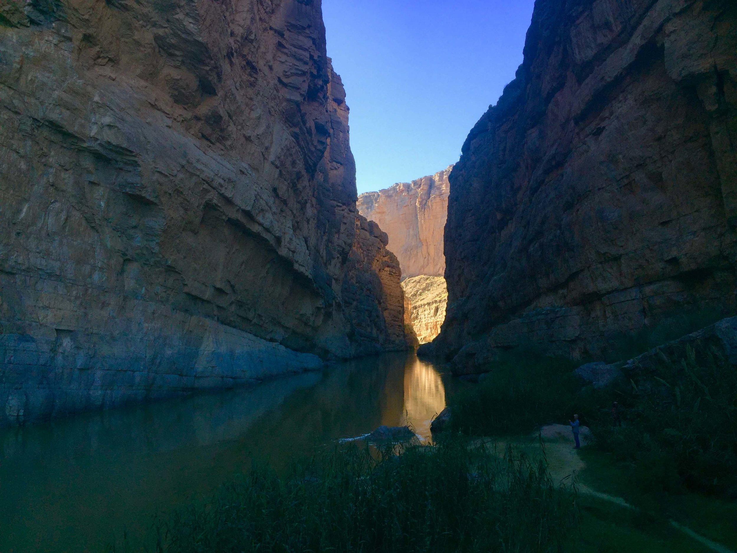 The Santa Elena Canyon in Big Bend National Park