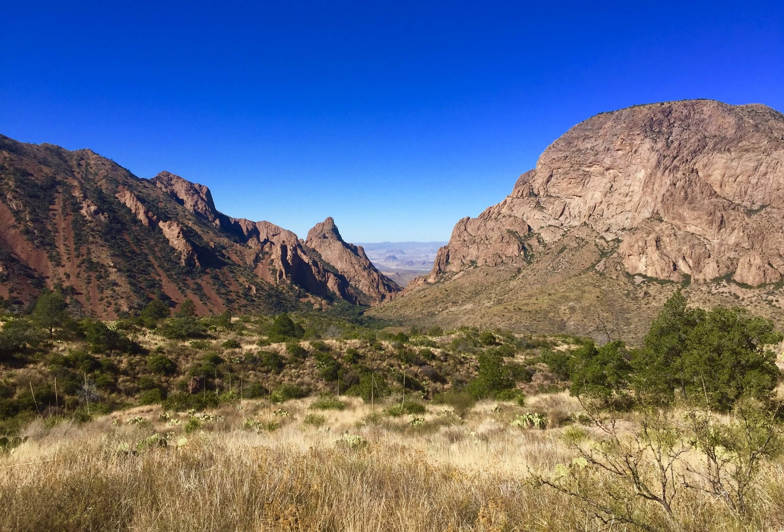 The Window View from the base of Pinnacles Trail - Big Bend