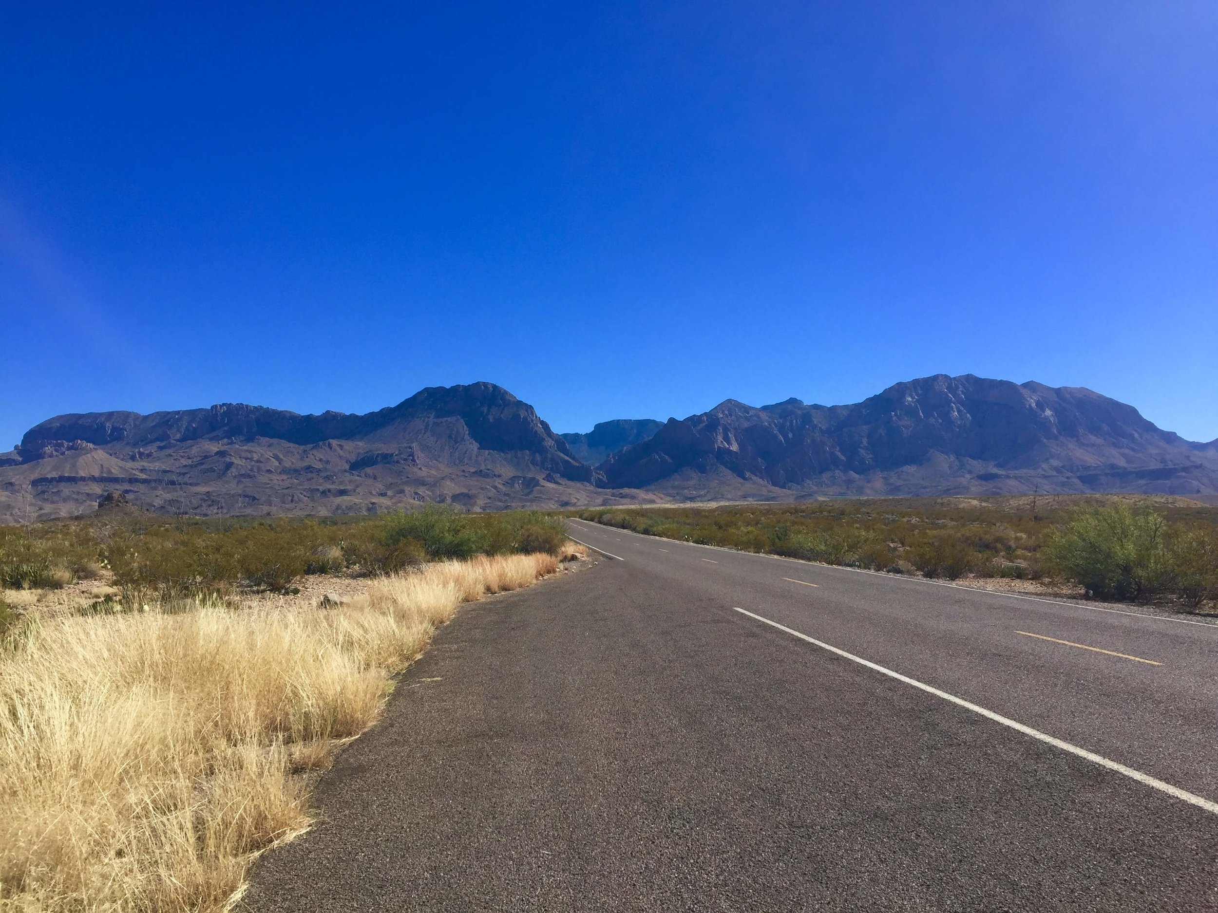 On the way in to Big Bend National Park