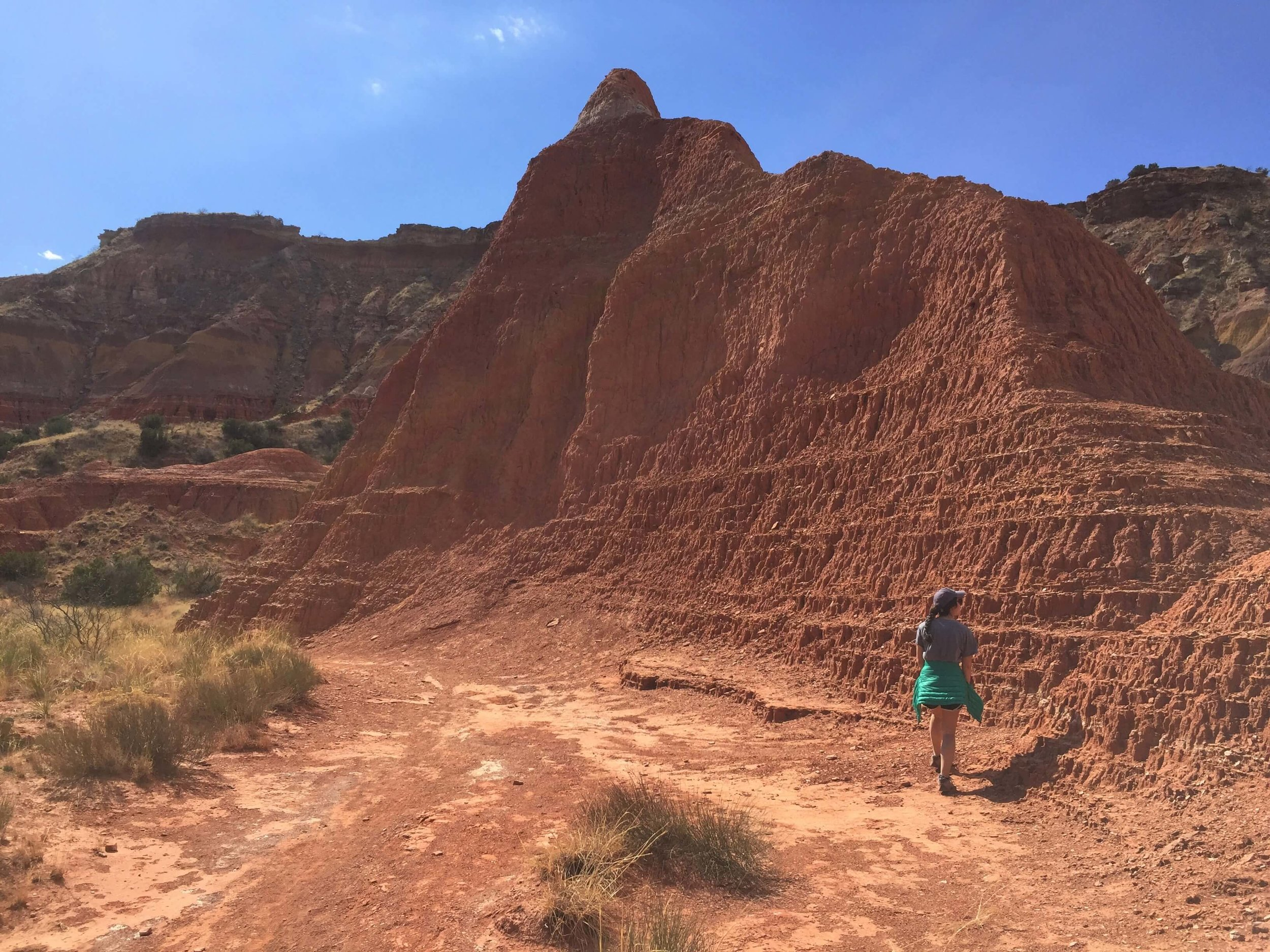 Hiking in Palo Duro Canyon State Park