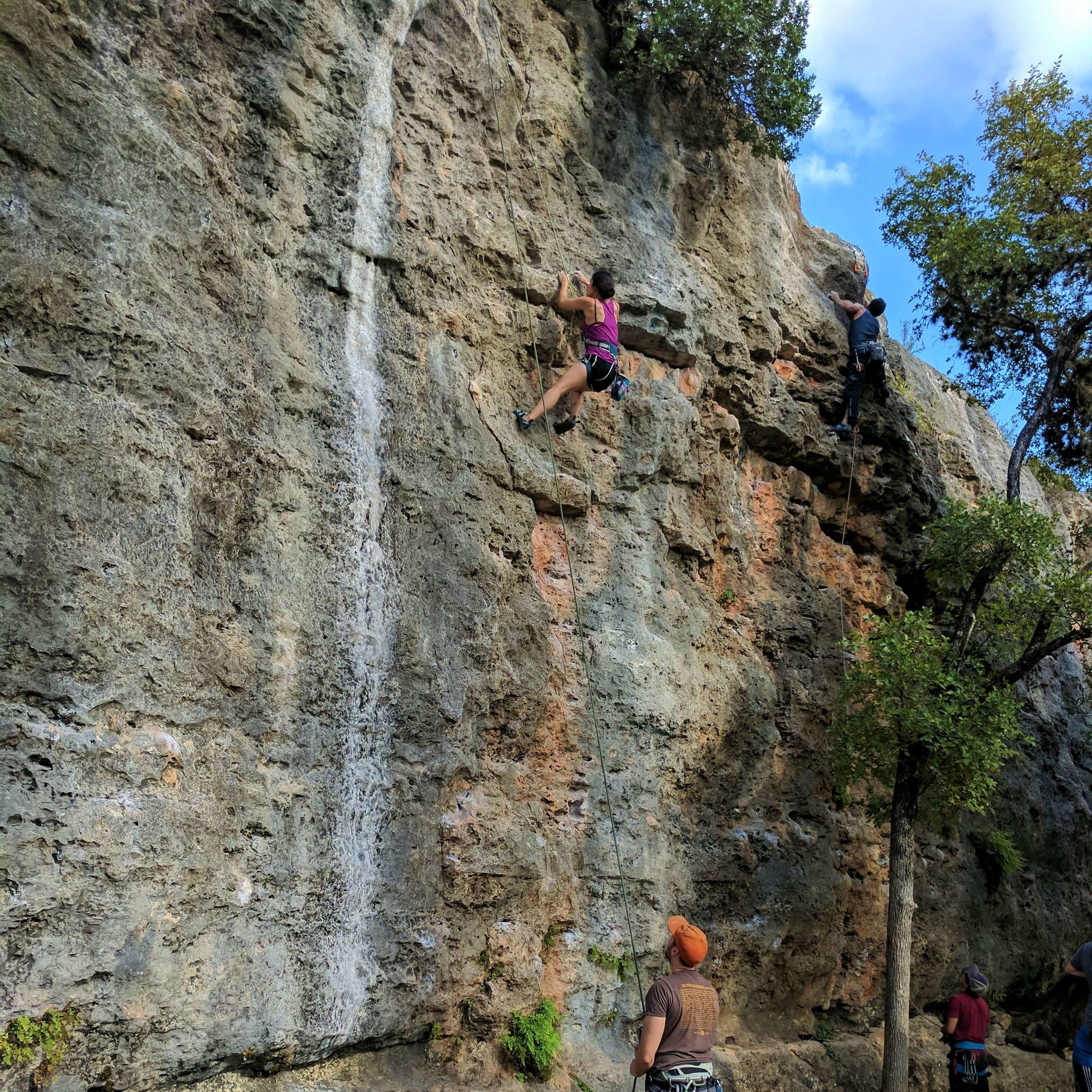 Reimers Ranch Climbing