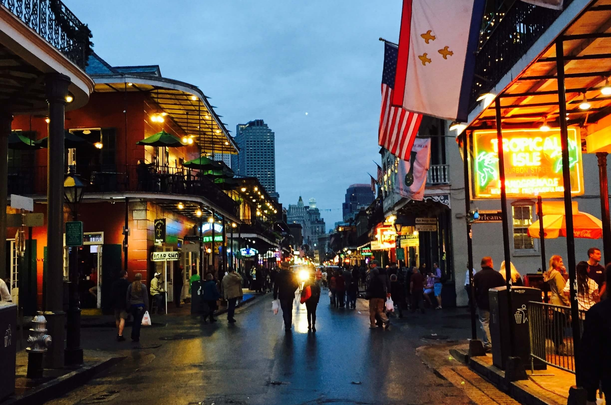 Bourbon Street in New Orleans. #1 in Best Things to Do in the French Quarter.
