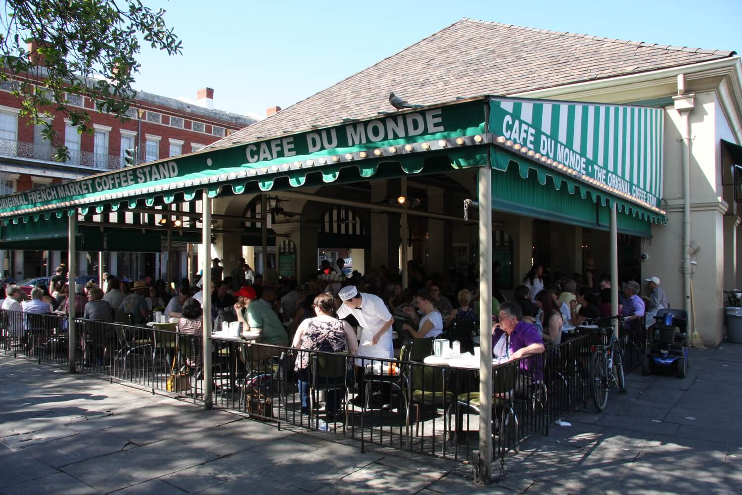 Café Du Monde in the French Quarter of New Orleans. #2 in Best Things to Do in the French Quarter.
