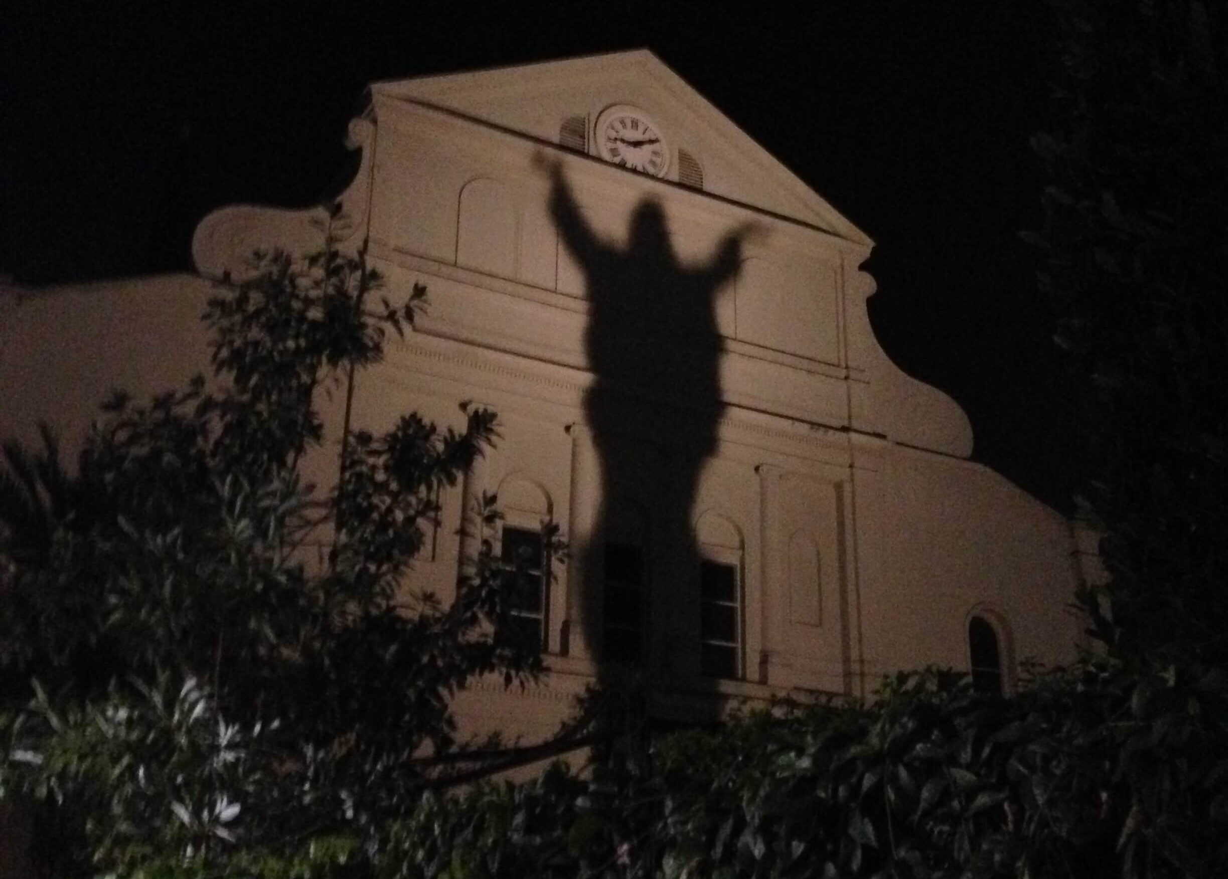 Taking a ghost tour in the French Quarter of New Orleans. #8 in Best Things to Do in the French Quarter.