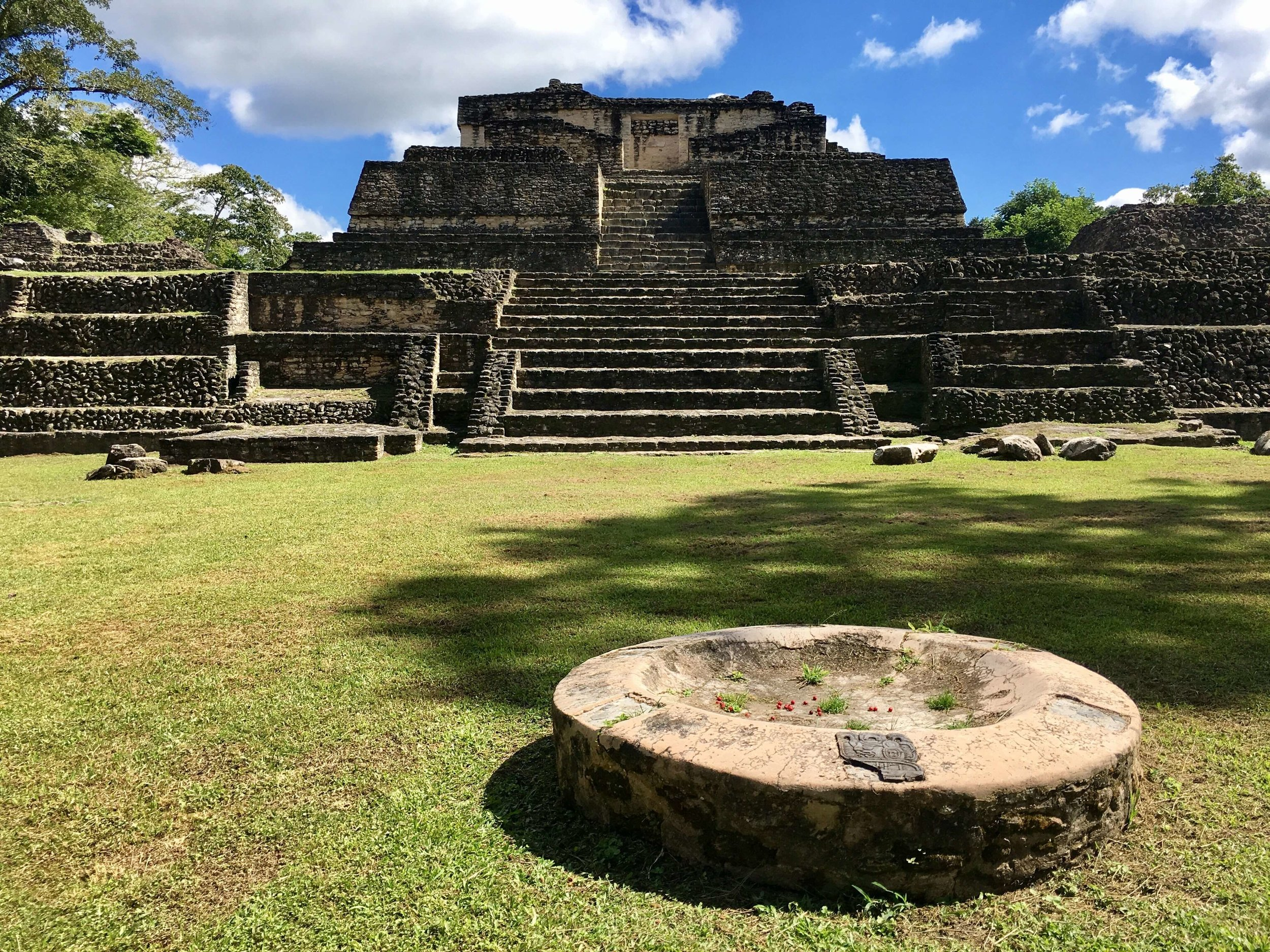 Wandering through Belize's largest Mayan ruin, Caracol. One of the best things to do in Belize.