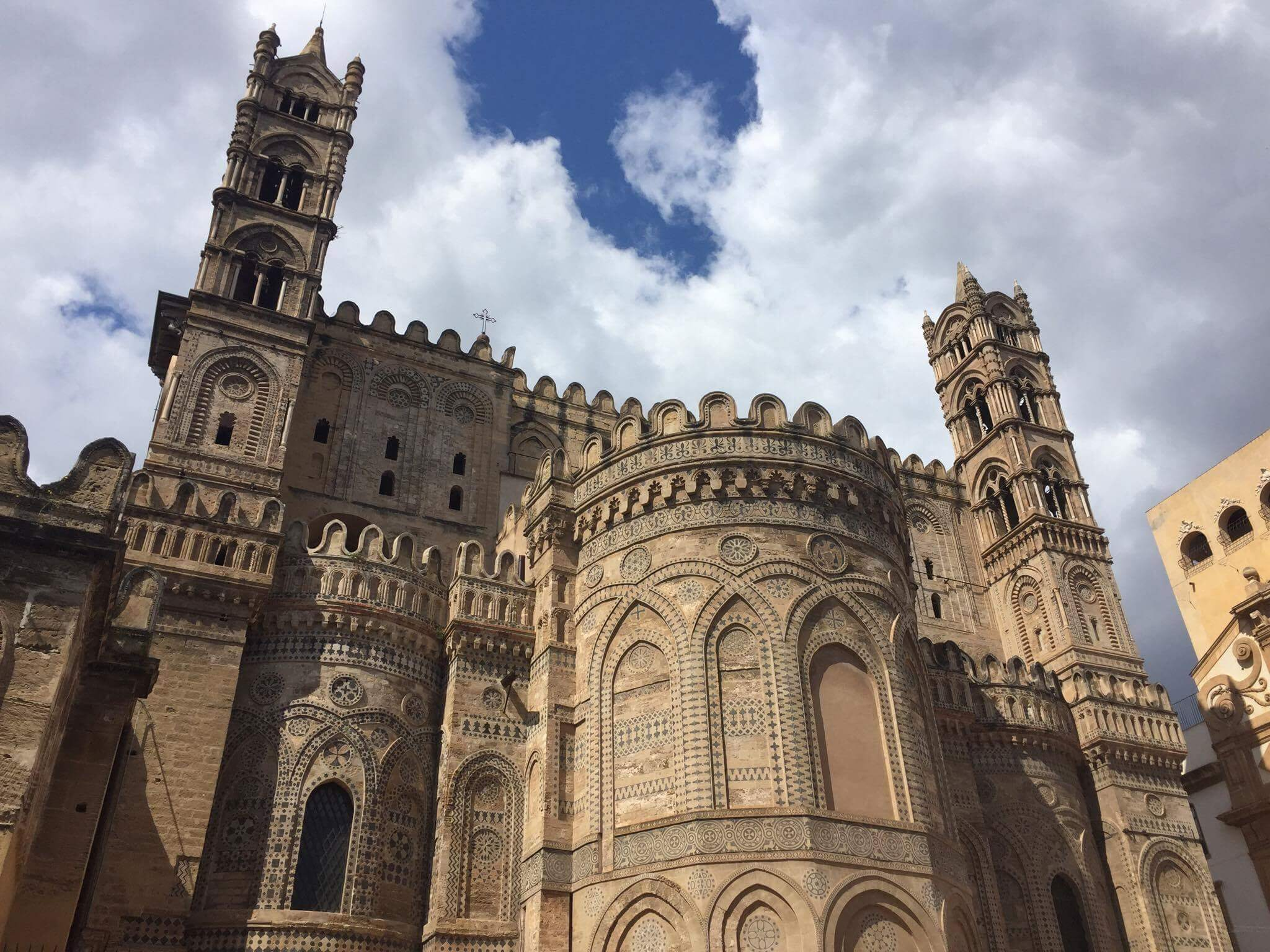 North side of Palermo Cathedral