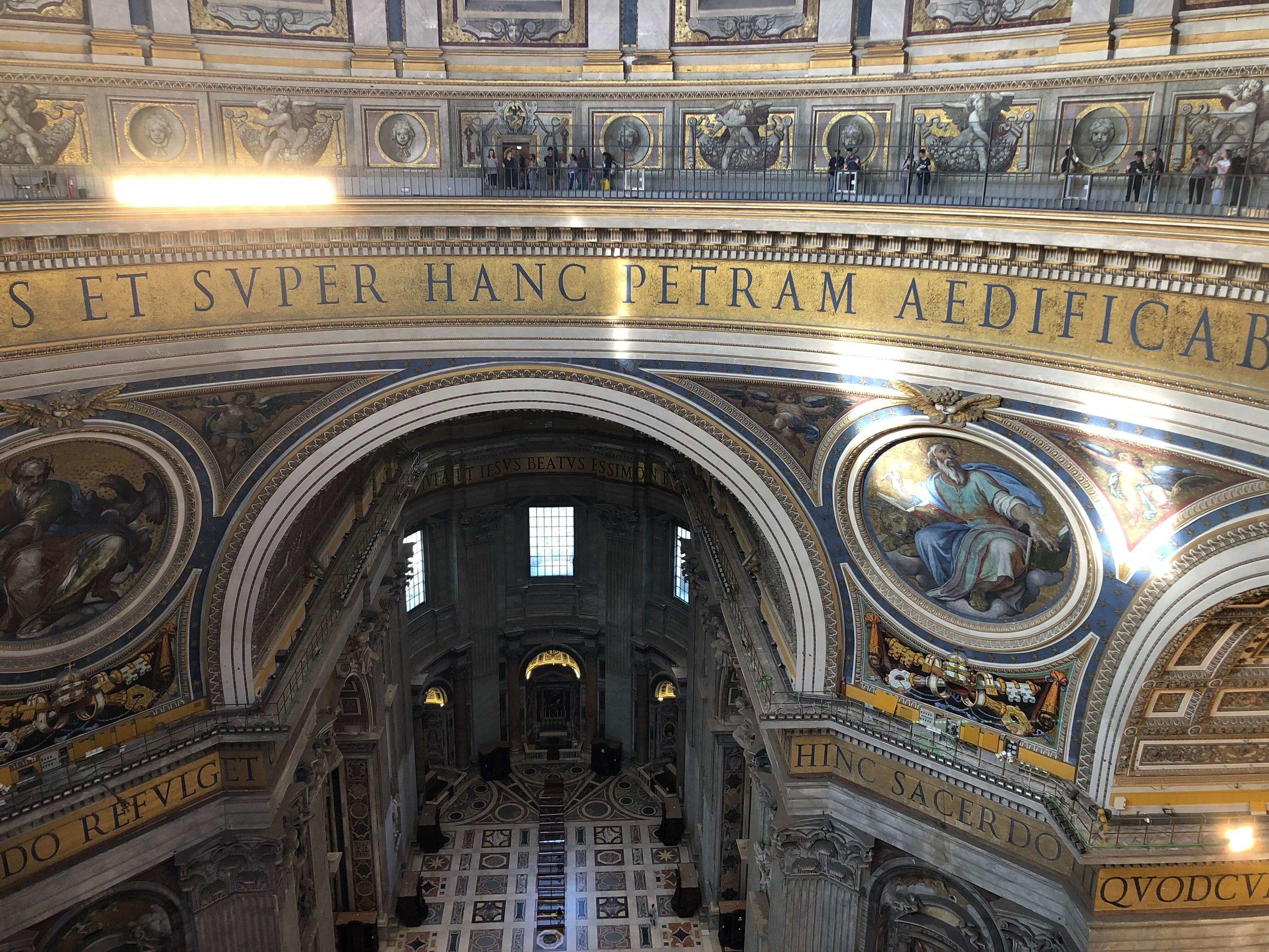Dome inscription