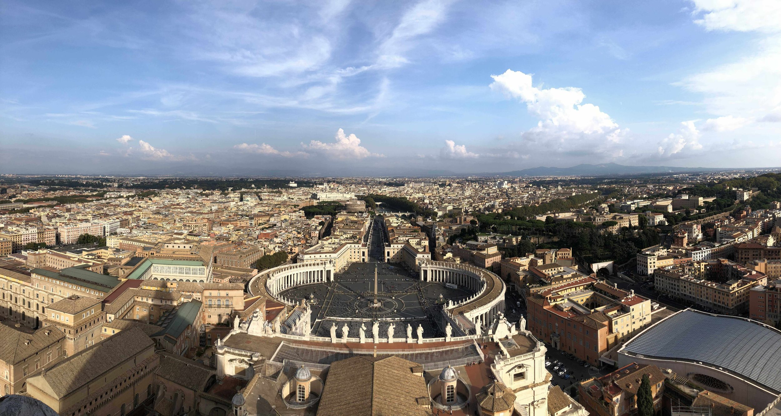 View from the top of the Dome