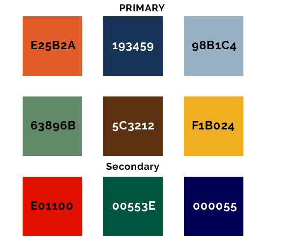 KWSP Color Palette