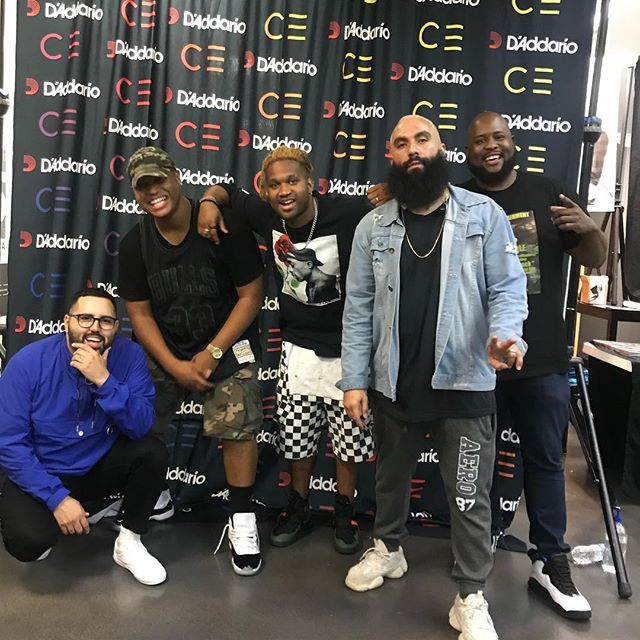 Always a pleasure to kick it with these guys! Had to pull up one time! @deathbymartymar @fernie_sc @iamaaroncole @mrkellycole