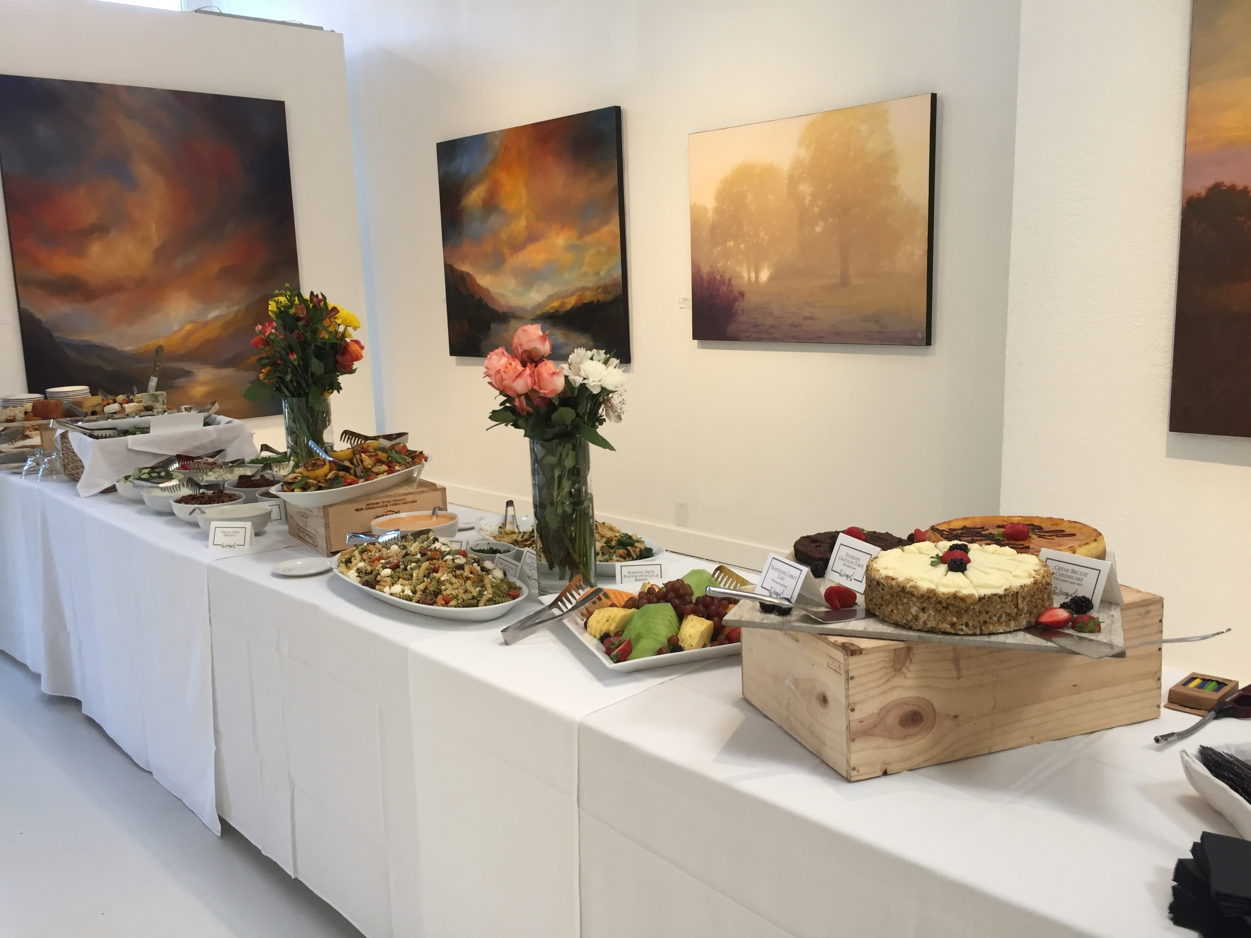 One of many ways Gallery 903 can be set up to host your next event!