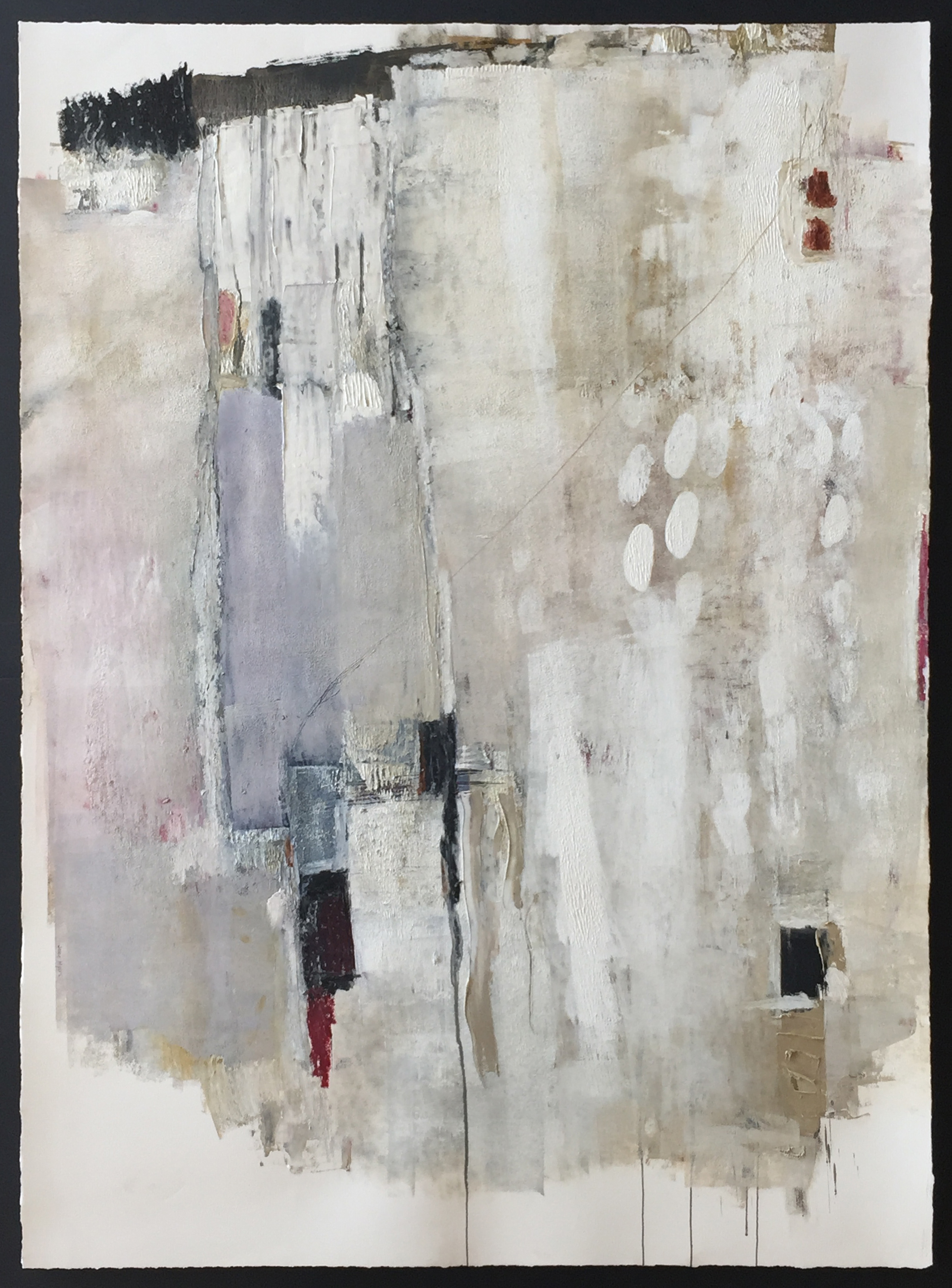"888.8888  63"" x 46"" / Mixed Media on Paper"