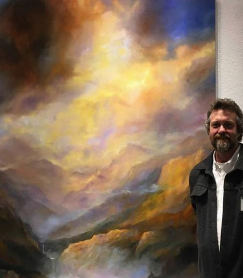 ARTIST JEFF WHITE ON FIRST THURSDAY