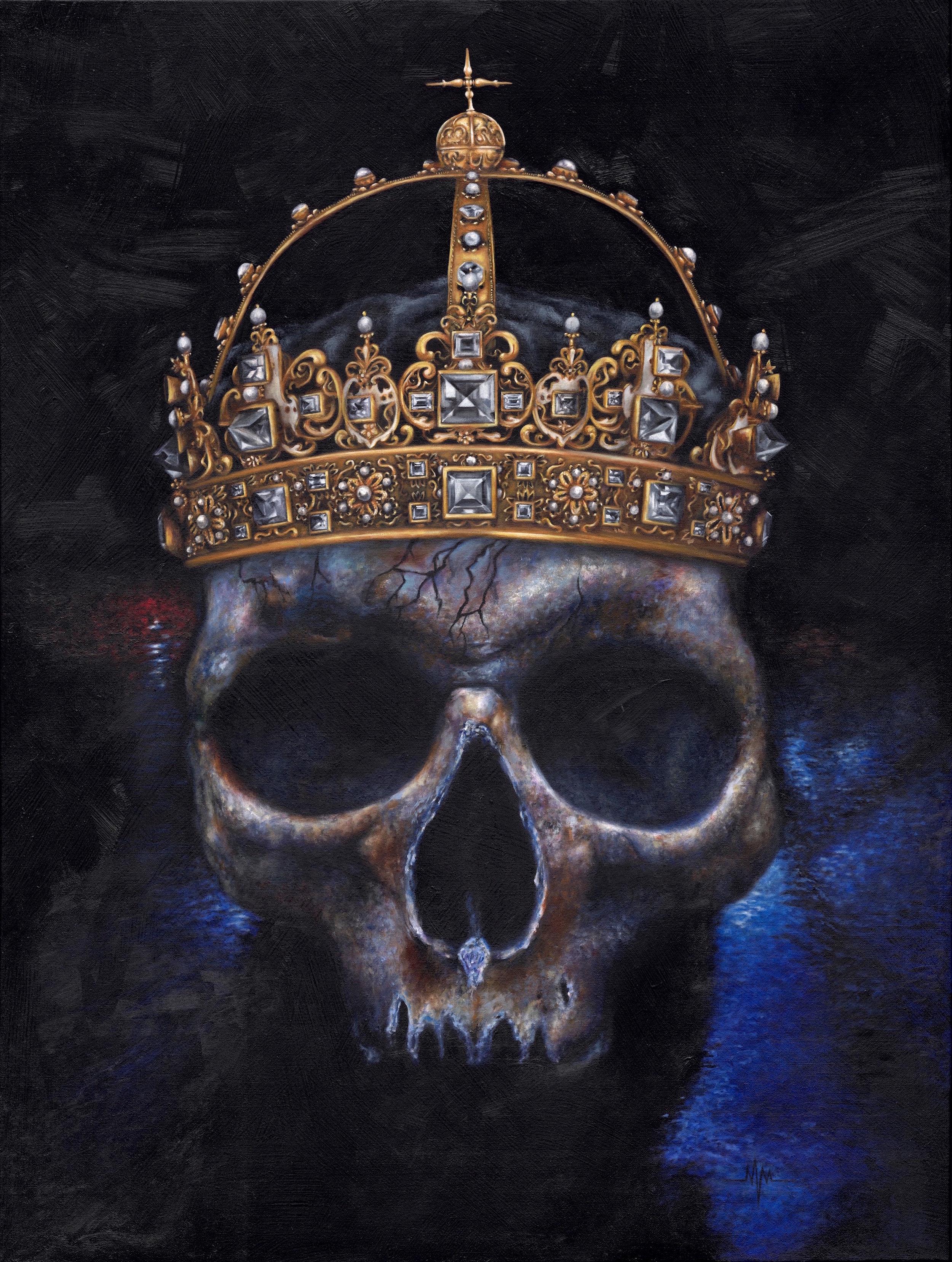 "KINGS  CRYPT 40"" X 30"" / Oil"