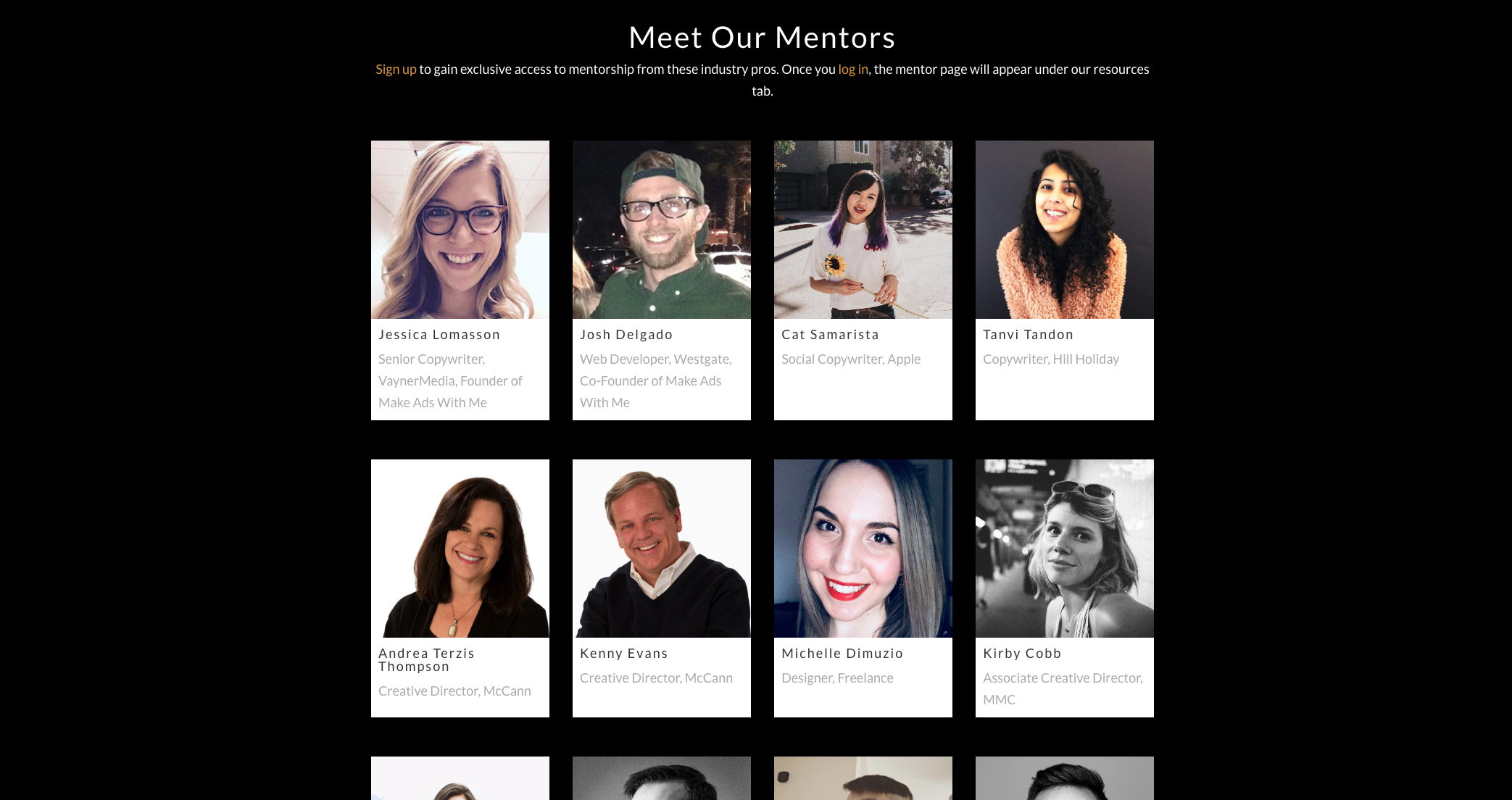 Industry pros to email for portfolio advice
