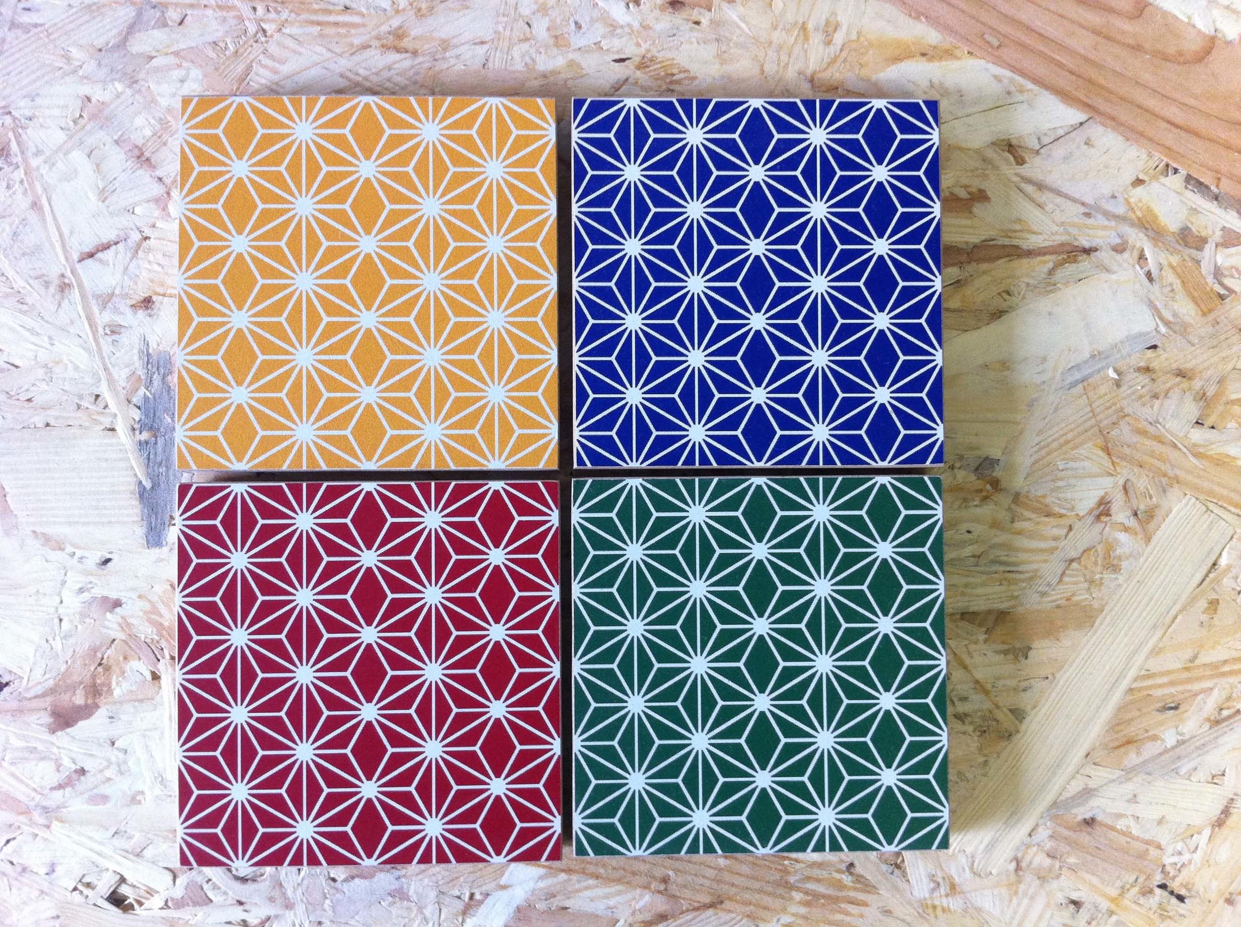 4 étoiles2 patterns color ànouveau upcycling écodesign.JPG