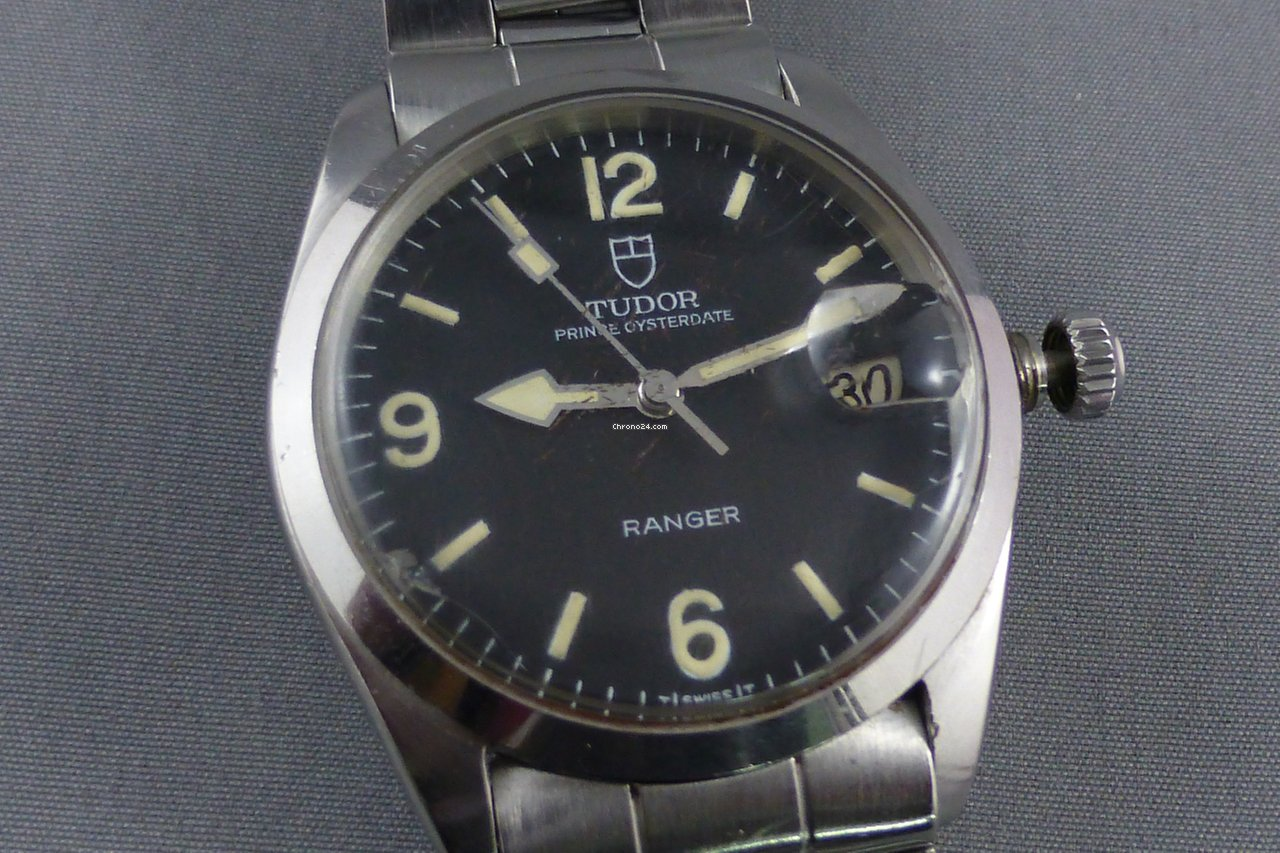 A (gasp)  potentially   real Vintage Tudor Ranger with Oyster bracelet.  Photo from FS listing, click through for more info.