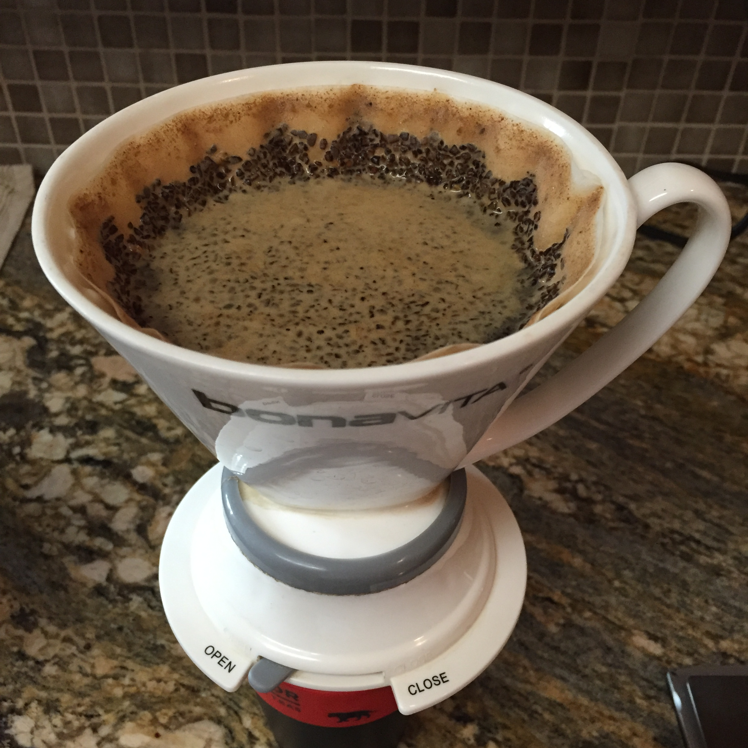 The Maria Rosa Oidor from   Cartel Coffee Lab  shined in the   Bonavita Immersion Dripper  creating a silky smooth, sweet cup.