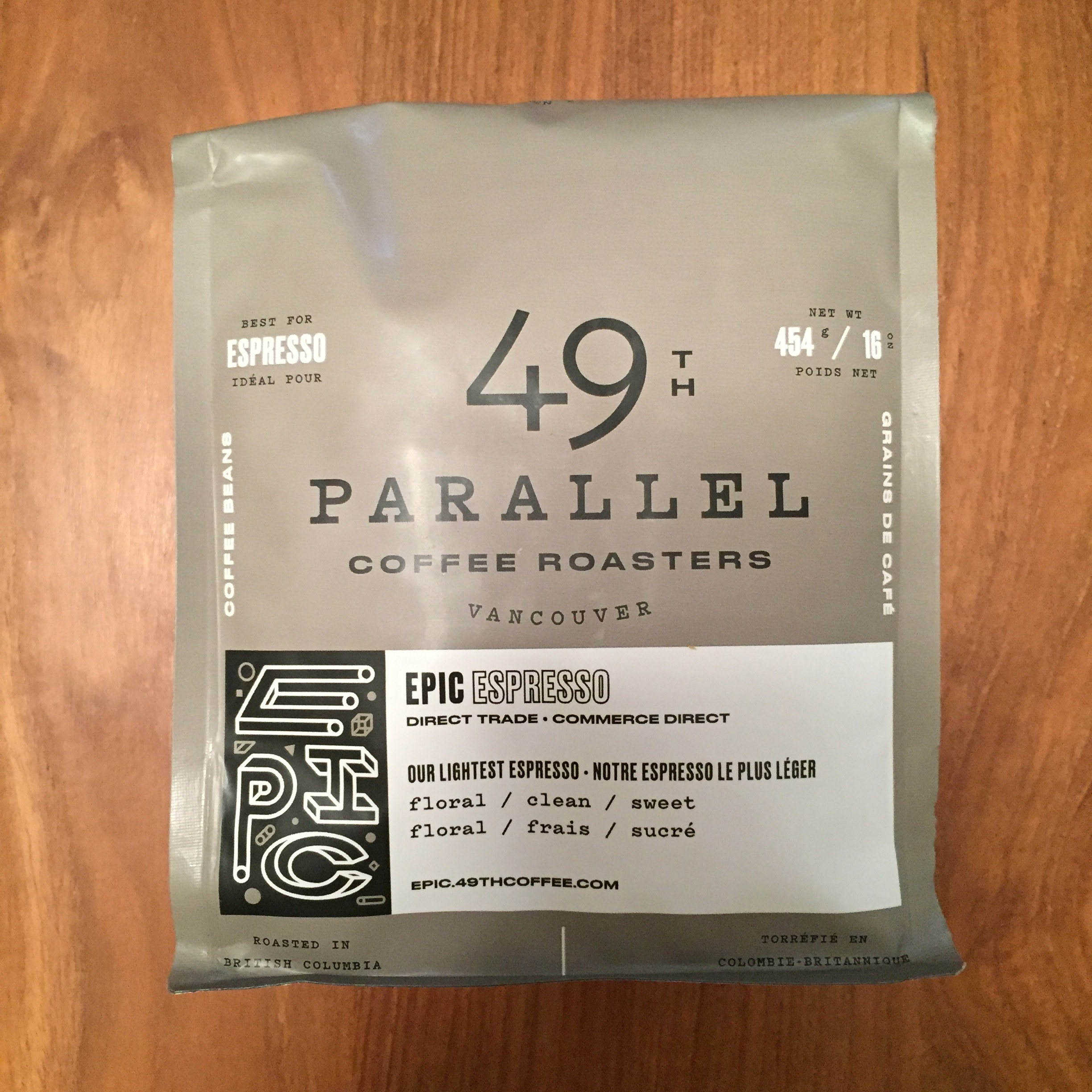 49th Parallel Coffee Roasters Epic Espresso