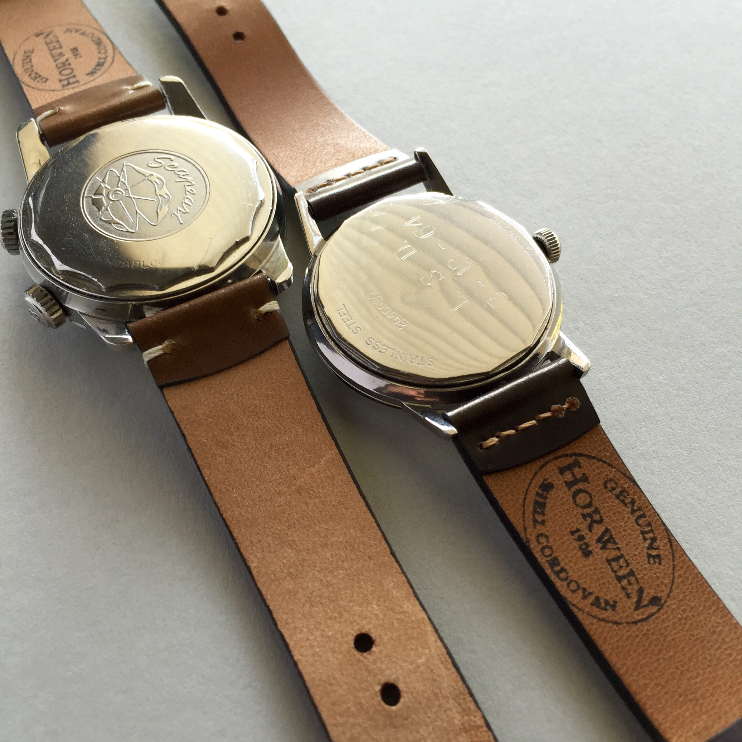 Horween Shell Cordovan Straps