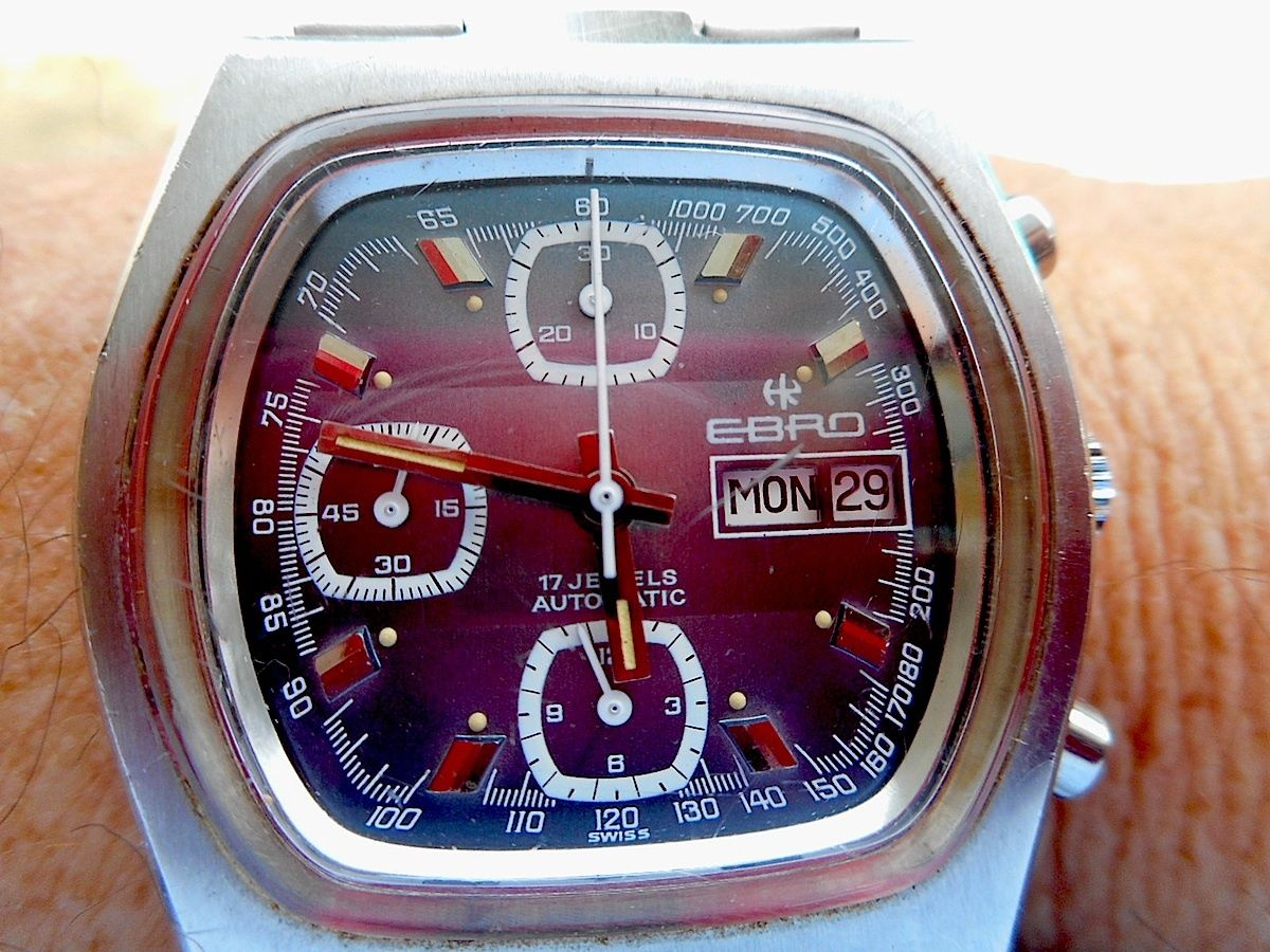 Three register chronos are tops in vintage world, and this one is sure to turn some heads.