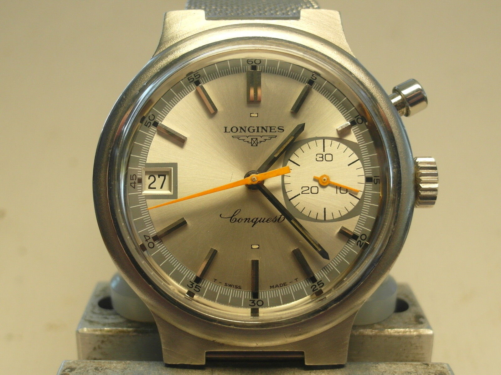 So clean, and made for timing the Olympics - how's that for tool watch?