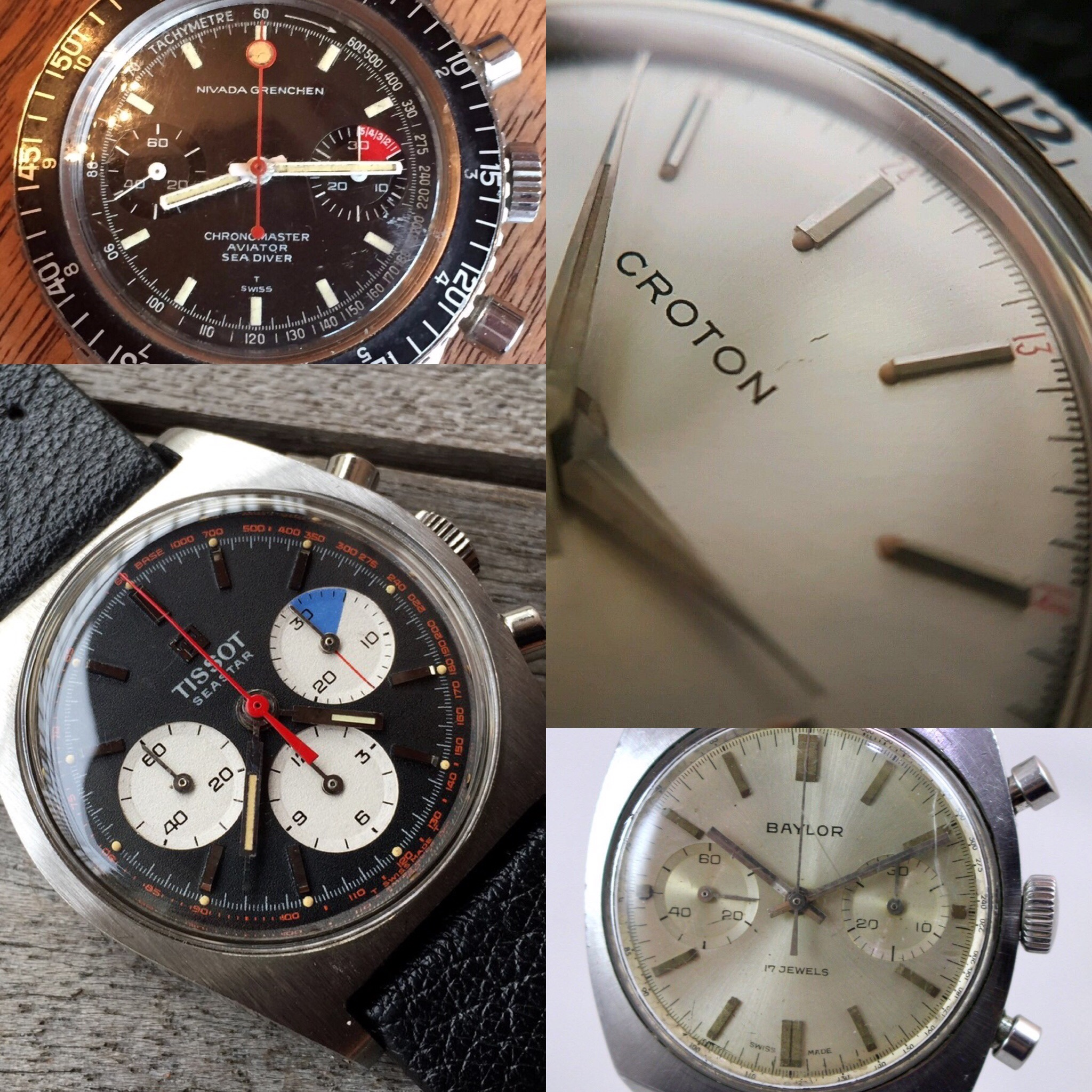 Vintage Tool Watches