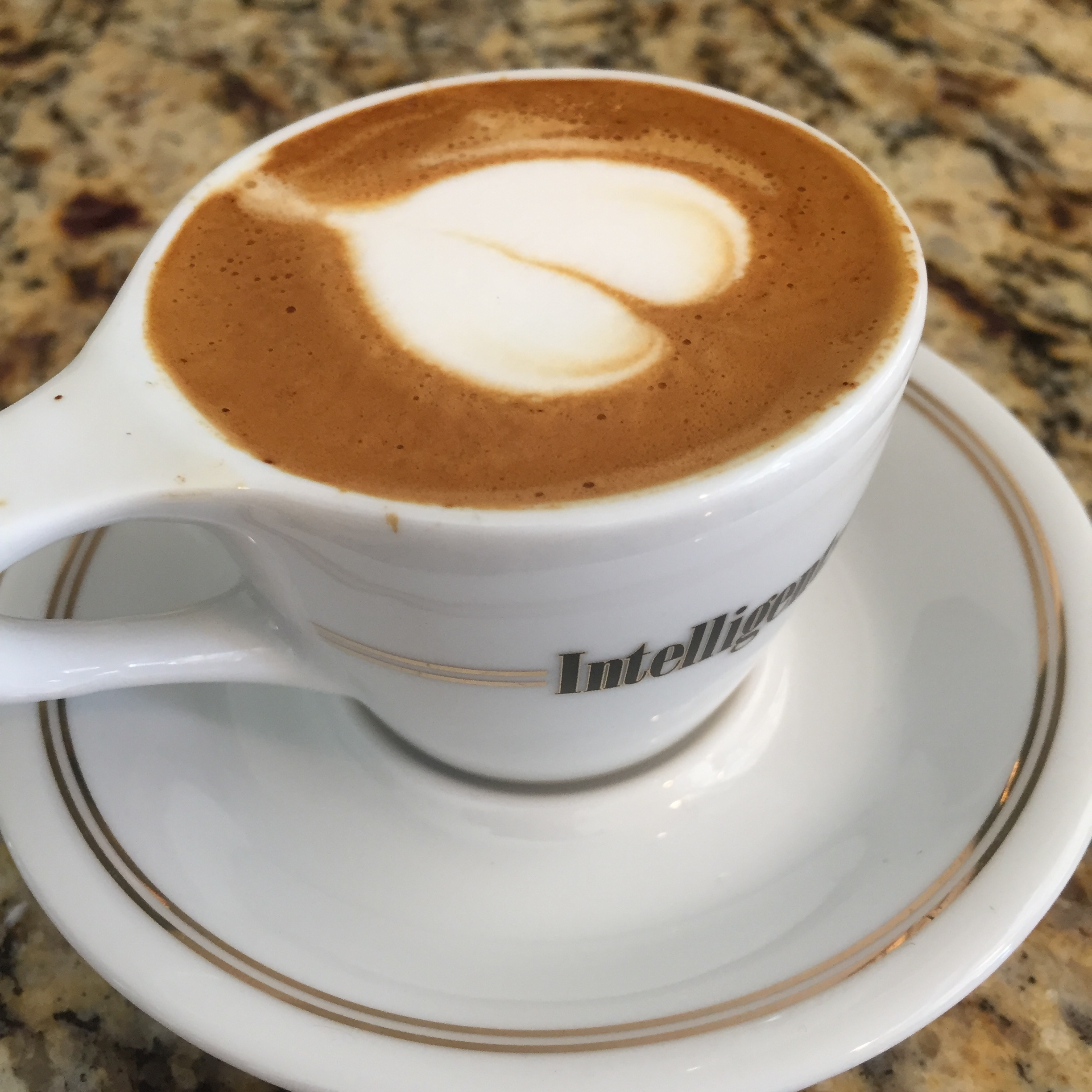 Great espresso, great cups!