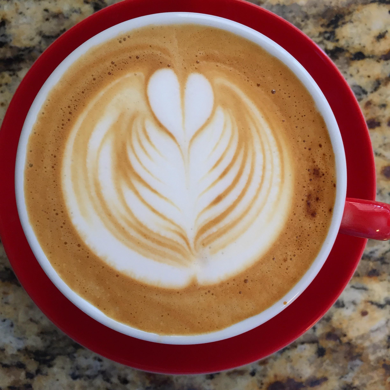 This coffee made killer strawberry milk cappas.