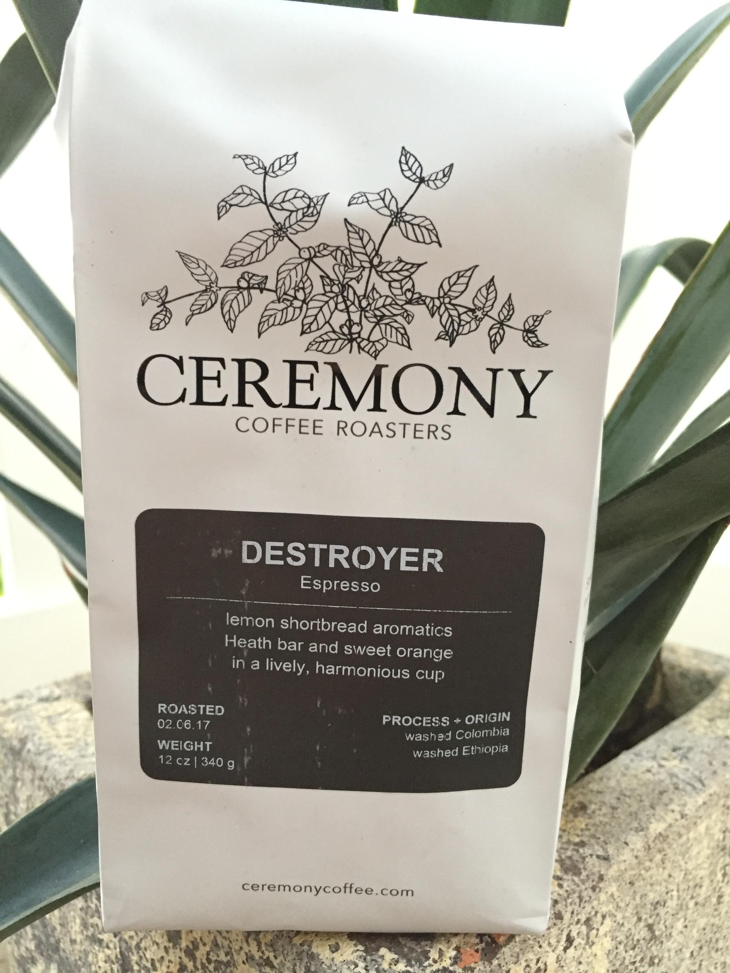 Ceremony Coffee Destroyer