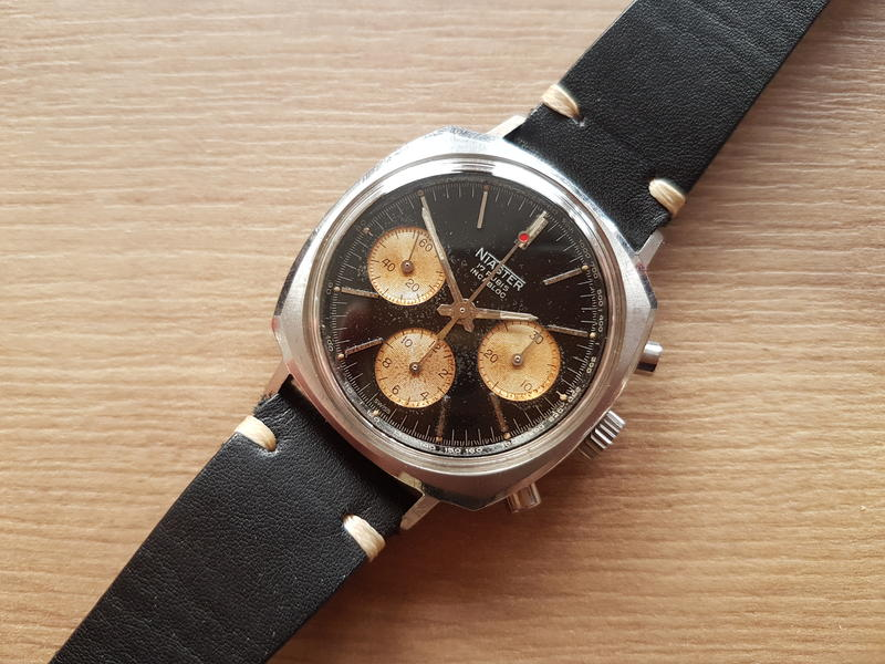 """I don't think I'd mind being in the """"poor man's"""" club with cool watches like this. Photo from FS listing, click through for more details."""