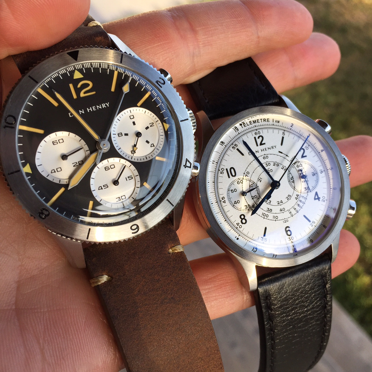"Two watches that embody the term ""value"" in the watch world."