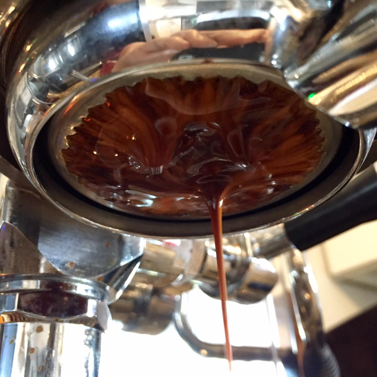 deep, bass heavy espresso for a single origin.
