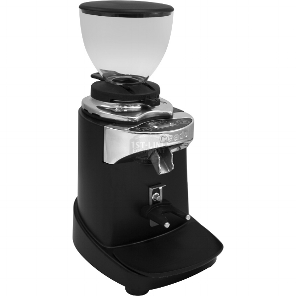 The E37S is extremely quiet, fast, and even better looking in person. I just wish it was still $1200. Photo courtesy of 1st Line Coffee Equipment, click through for more info and purchasing.