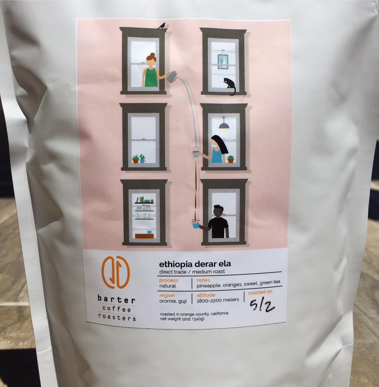 Barter Coffee Ethiopia Derar Ela