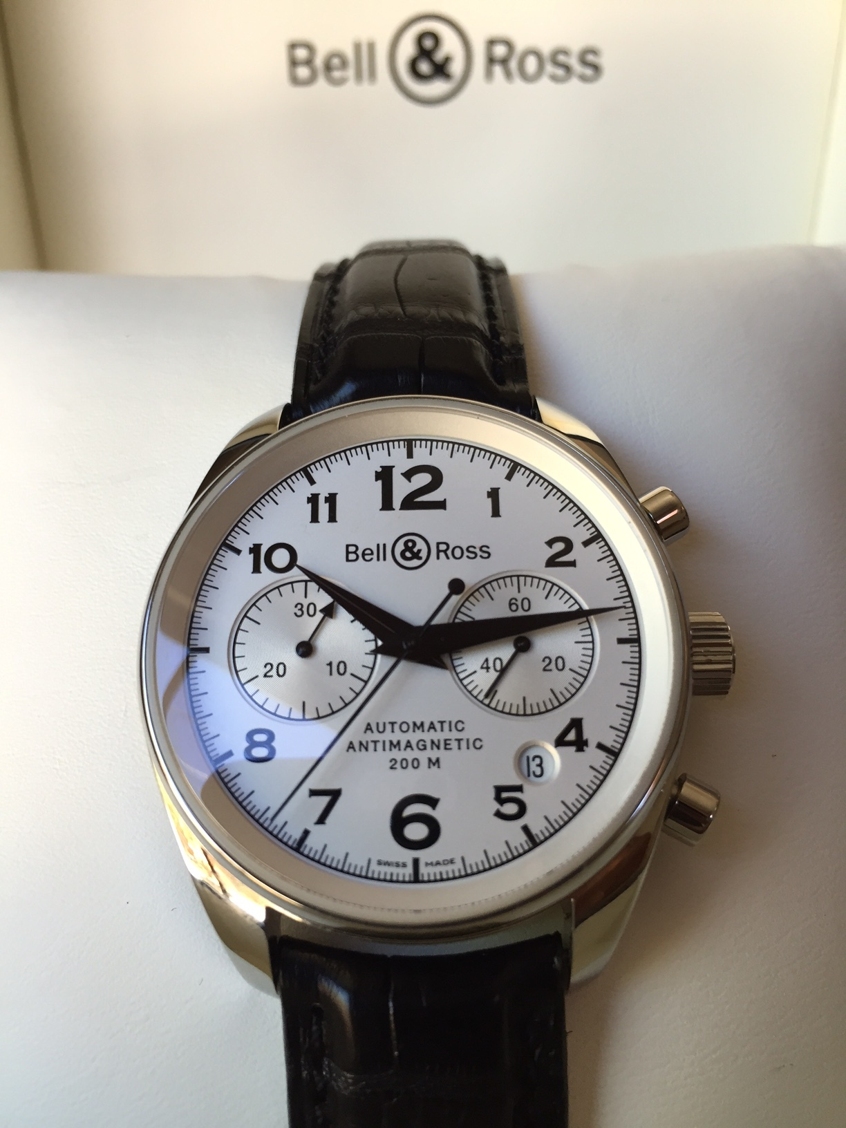 A perfect watch for a great friend. Click through to read the story of how we found this one.