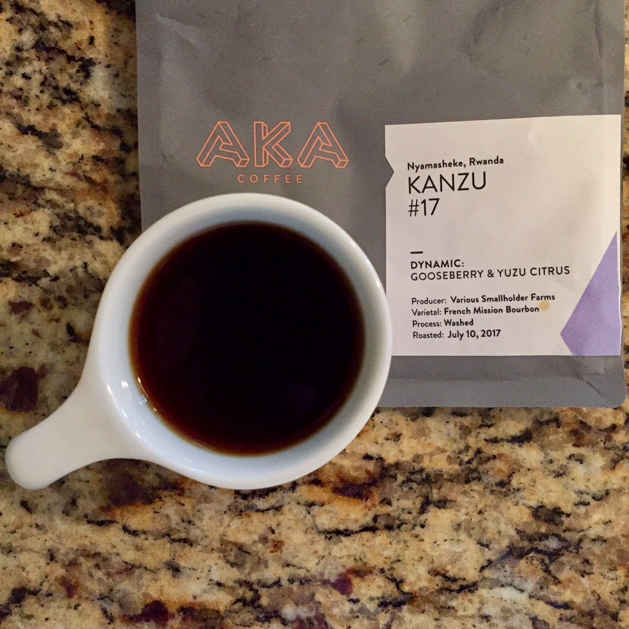 The coffee was very smooth and sweet, with very little acidity.