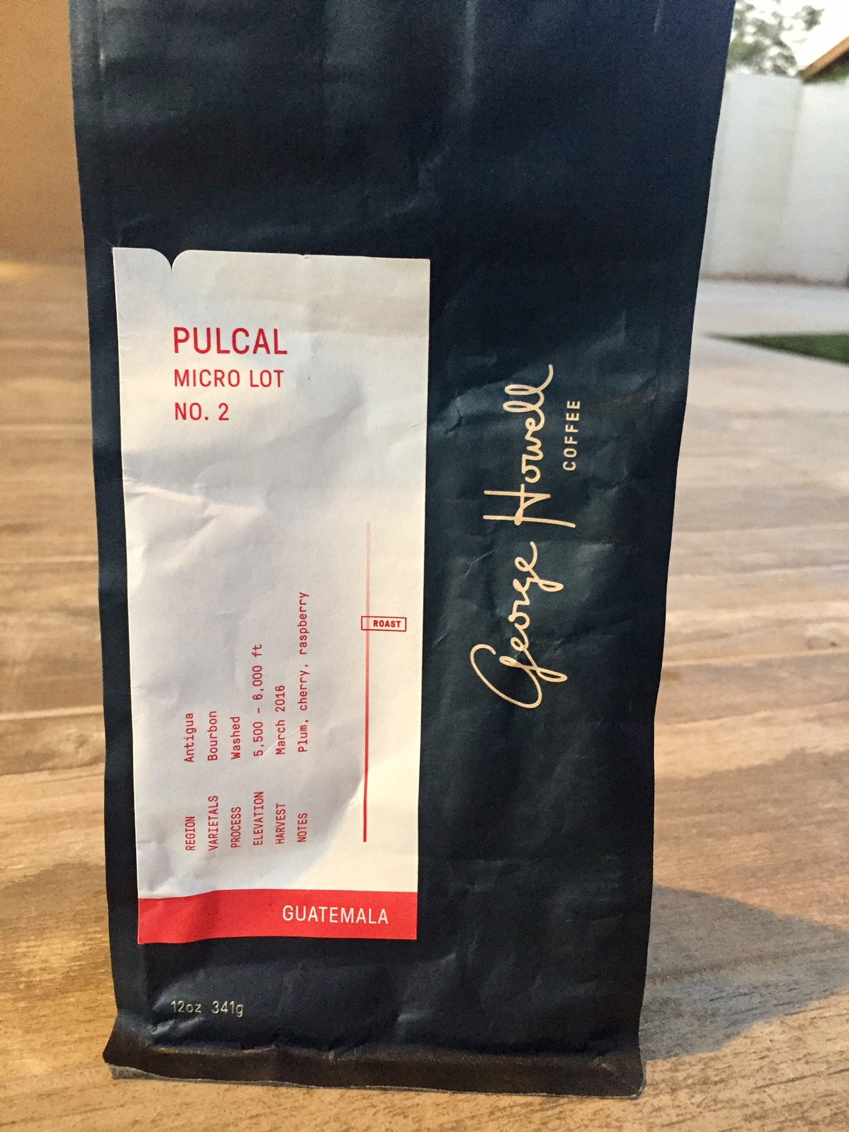 George Howell Coffee Pulcal Micro Lot No. 2
