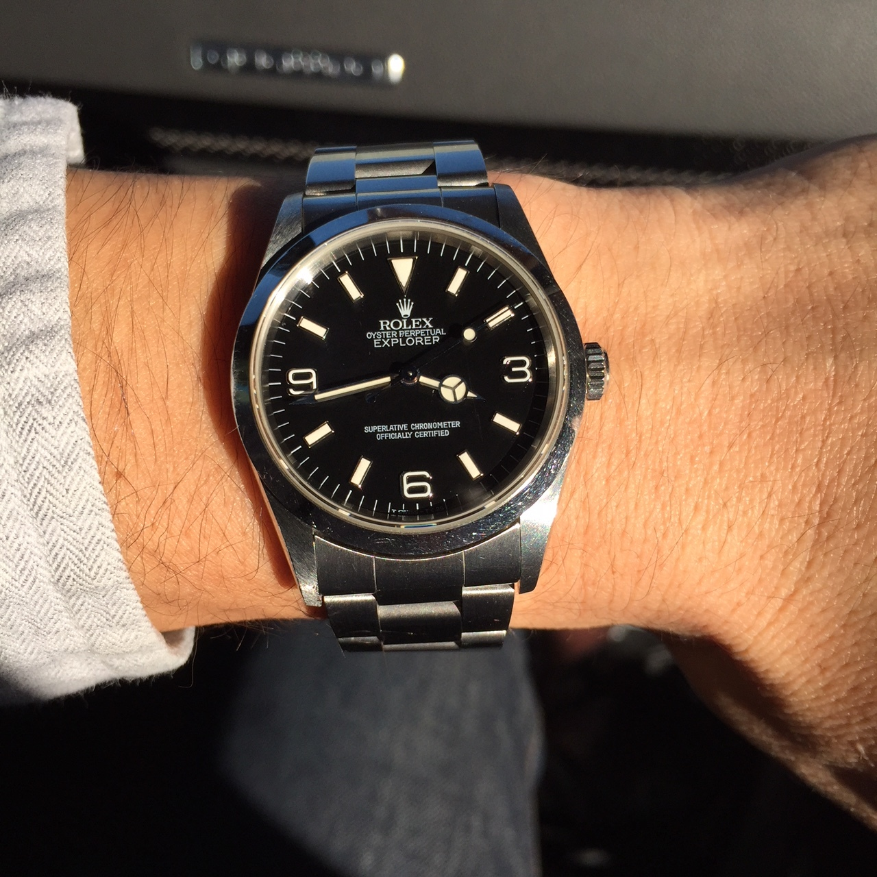 I quickly fell in love with my first Rolex, the 14270 Explorer