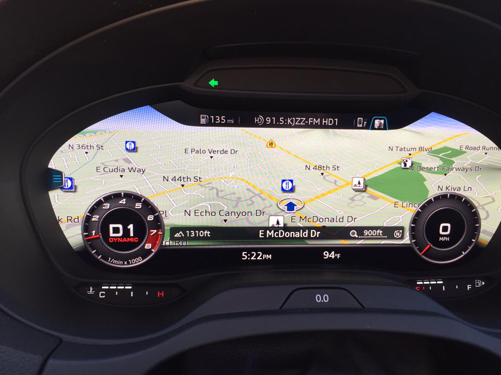 Audi RS3 Virtual cockpit maps.JPG