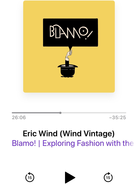 Click through to the Blamo! Podcast site.