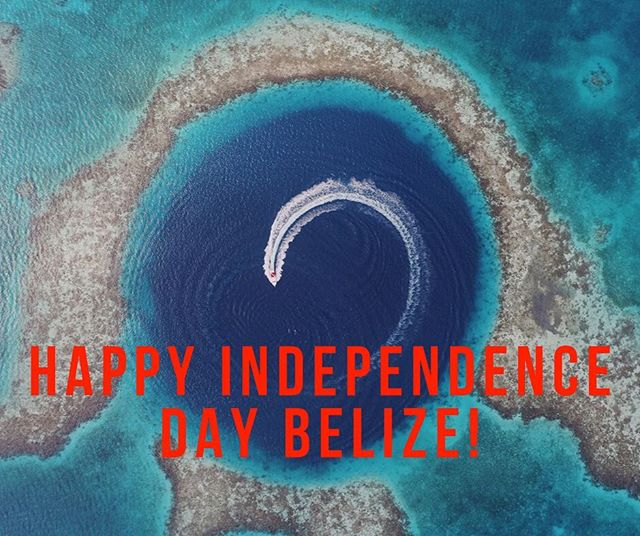 Happy Birthday Belize! Here's to 38 years of independence, and here's to many more! 🇧🇿