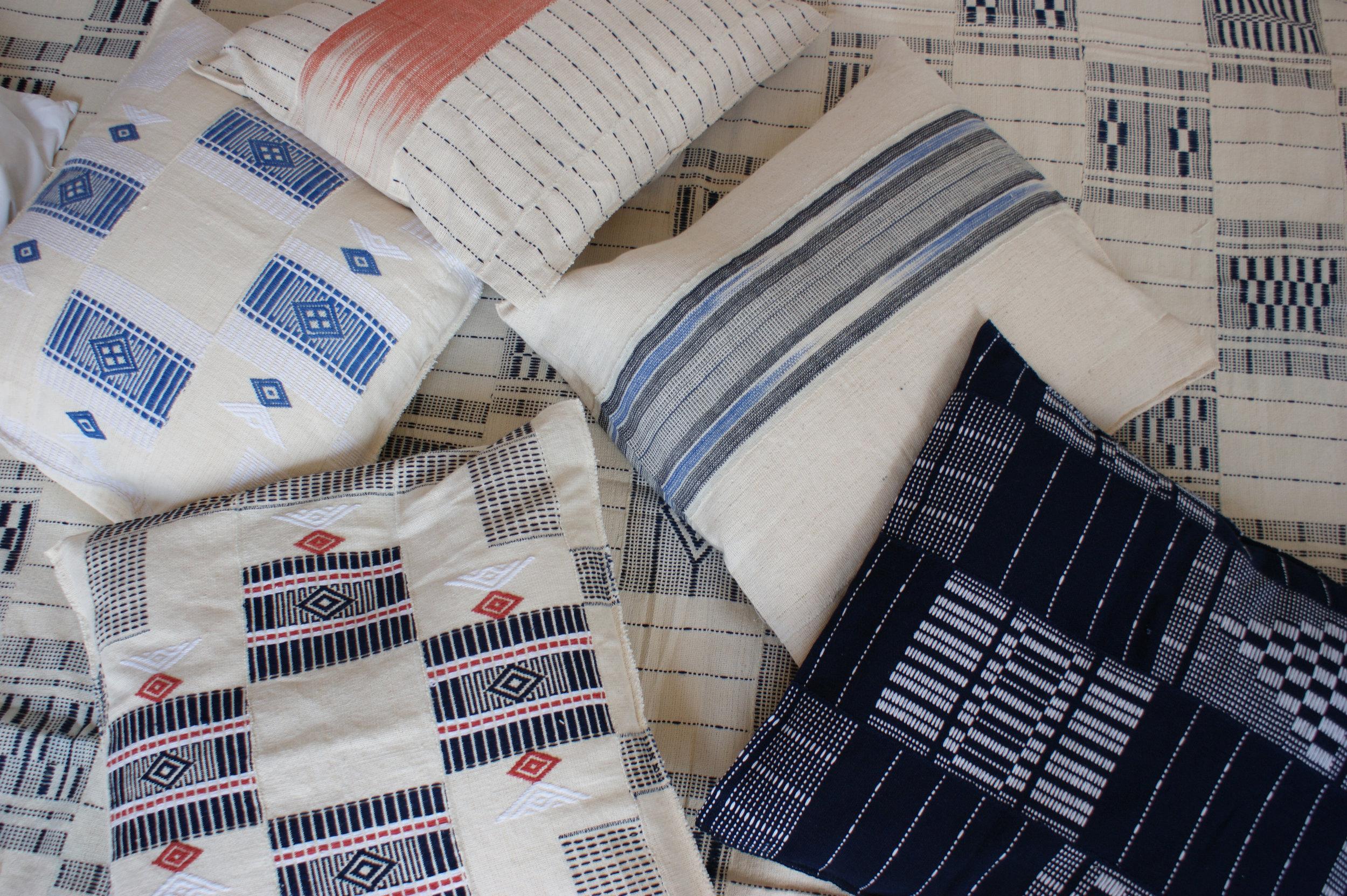 Five | Six Textiles Pillows