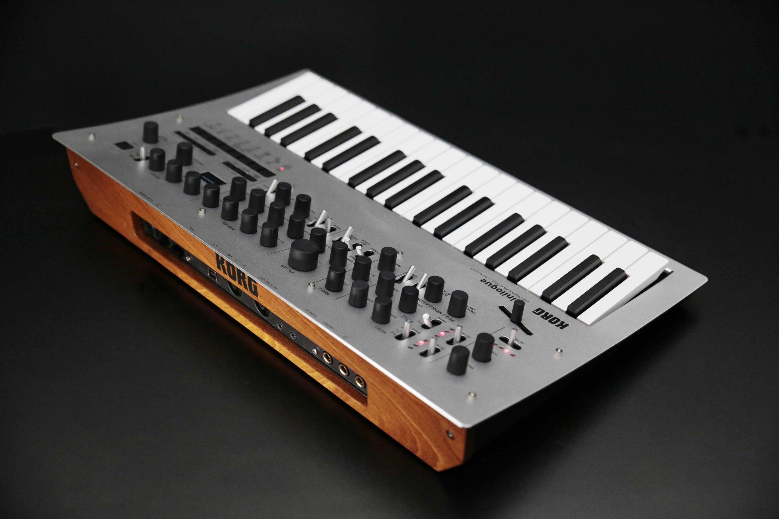 First Prize - a Korg Minilogue Polyphonic Analogue Synthesizer.