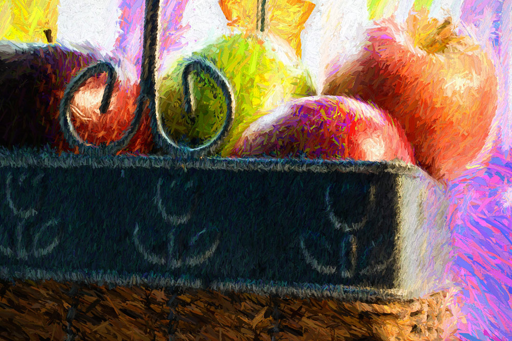 The Apple Basket - art rendering by Joseph Maas