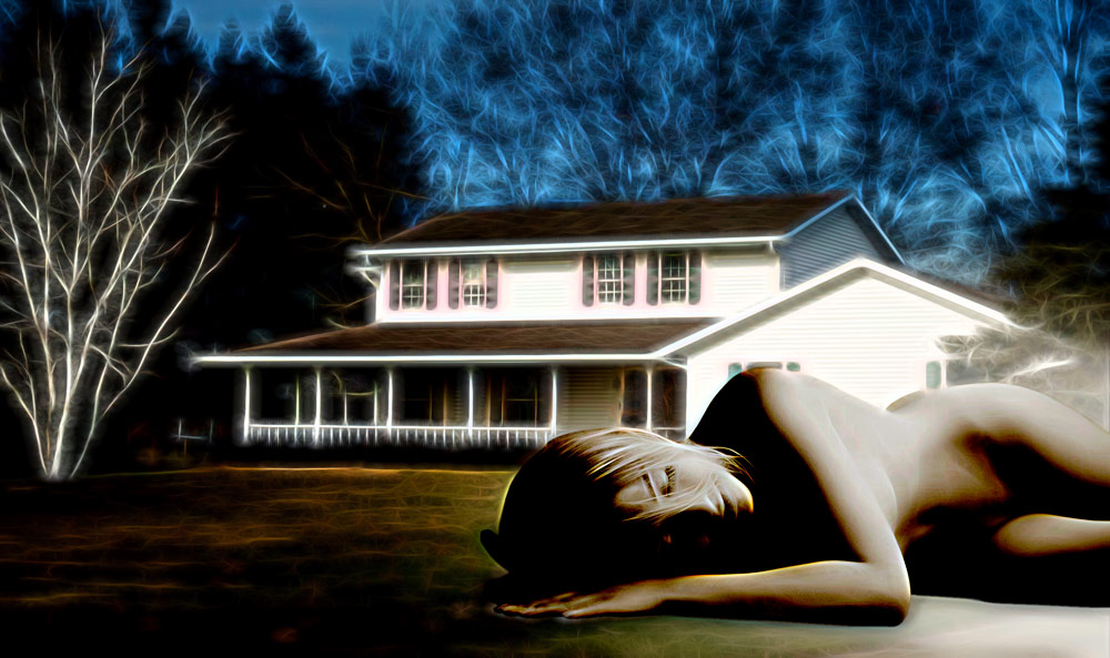 Dream House - photo art rendering by Joseph Maas