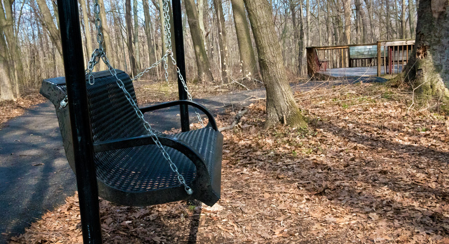A place to rest, kickback, and swing. Photo by Joseph Maas